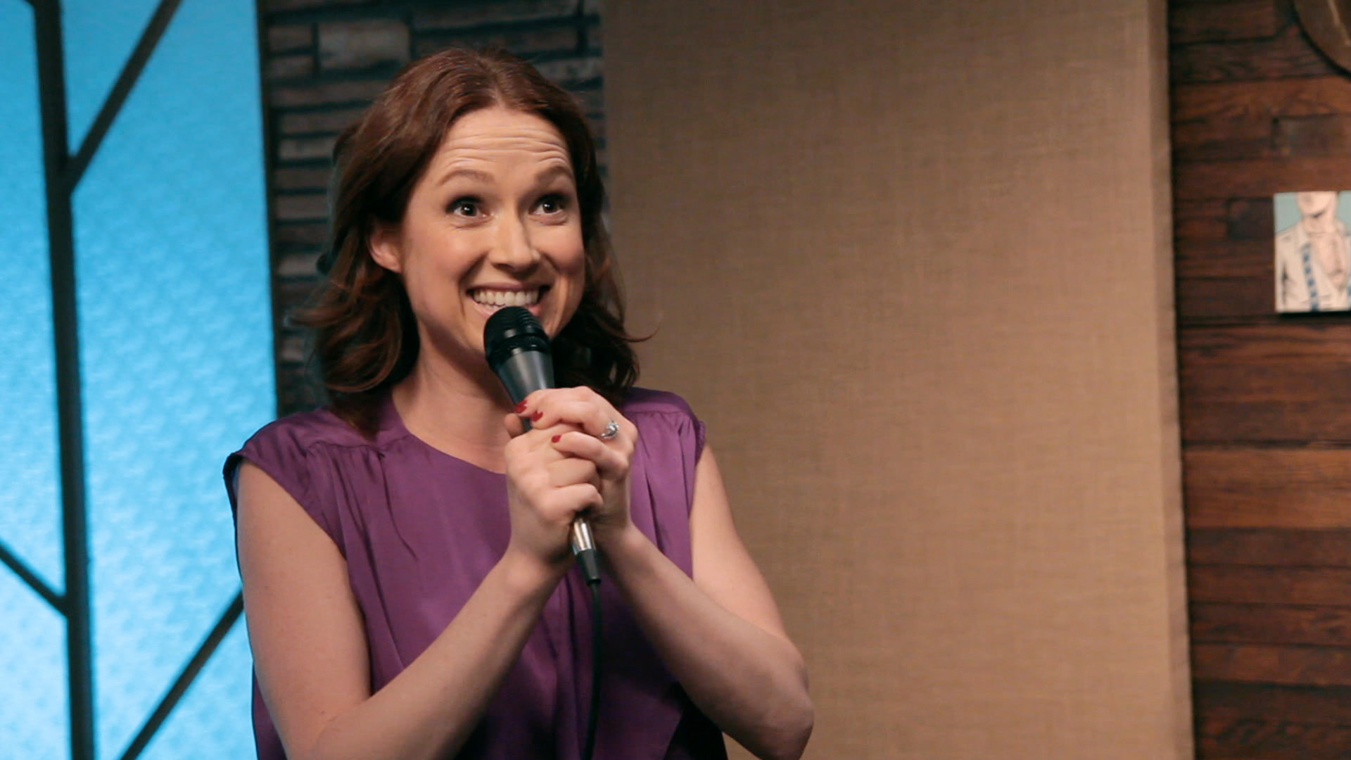 1920x1080 Move Over, Joni Mitchell: Ellie Kemper Sings the Greatest Taxi Song Ever –  IFC