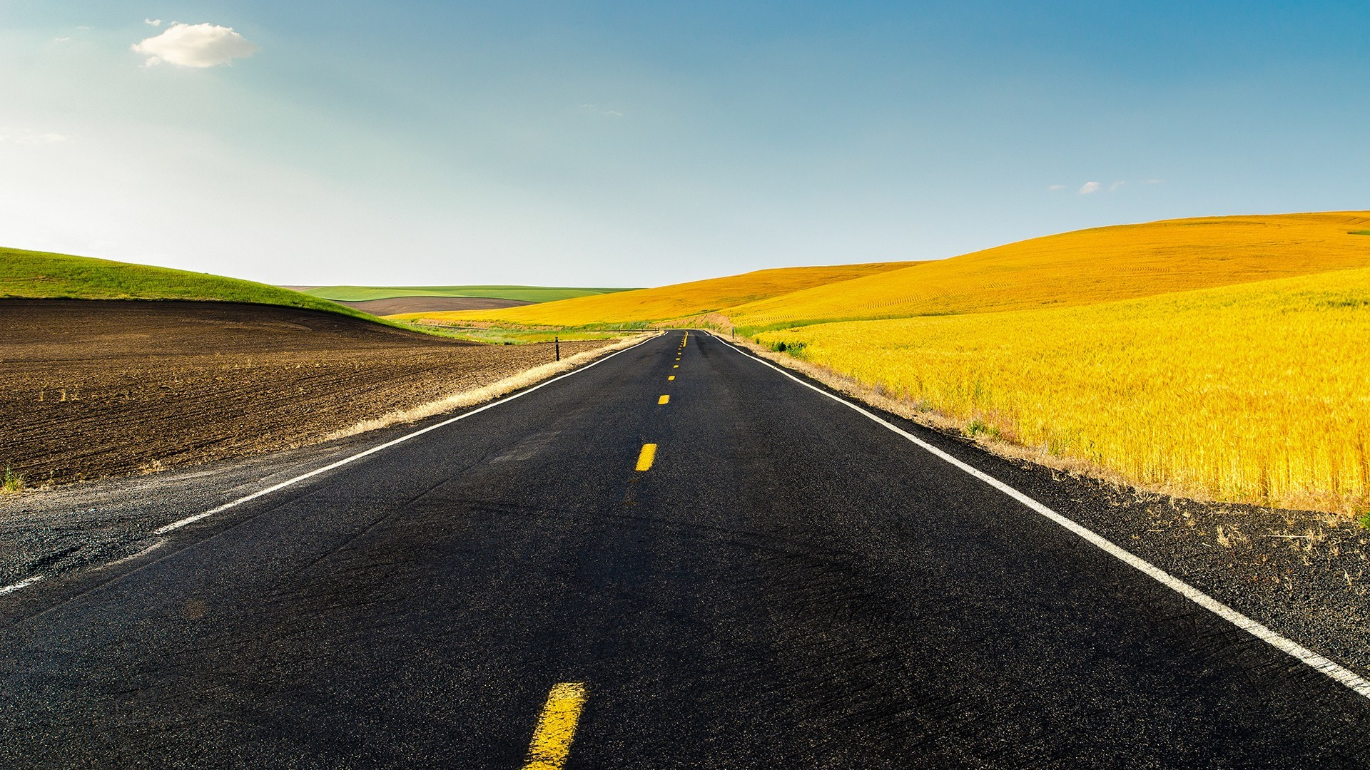 sunny day country road - HD Desktop Wallpapers   4k HD