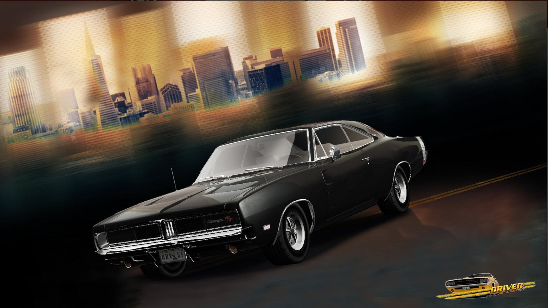 1920x1080 Vehicles For > 1969 Dodge Charger Wallpaper Black