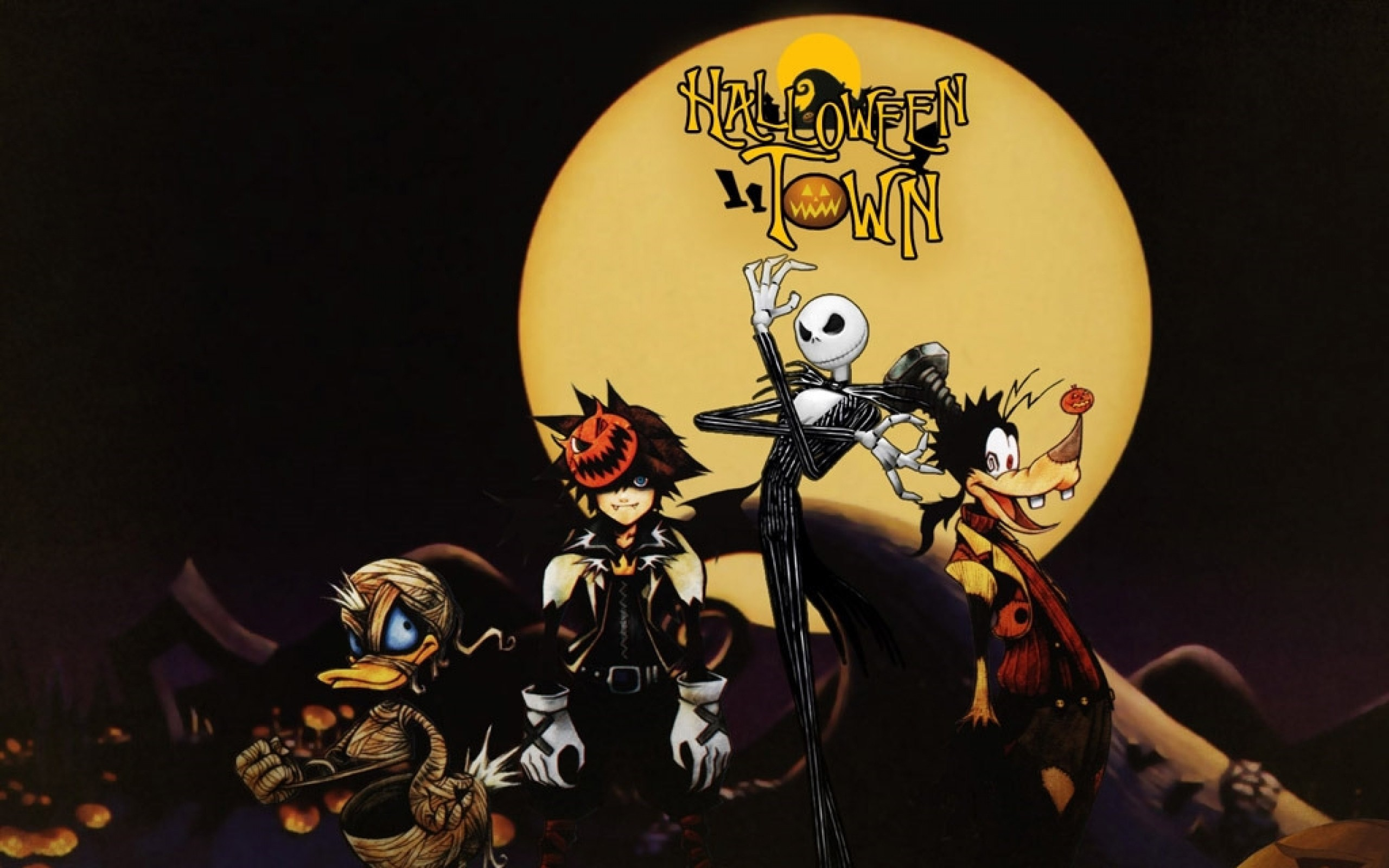 2560x1600 ... Free Nightmare Before Christmas Wallpaper For Android Nightmare