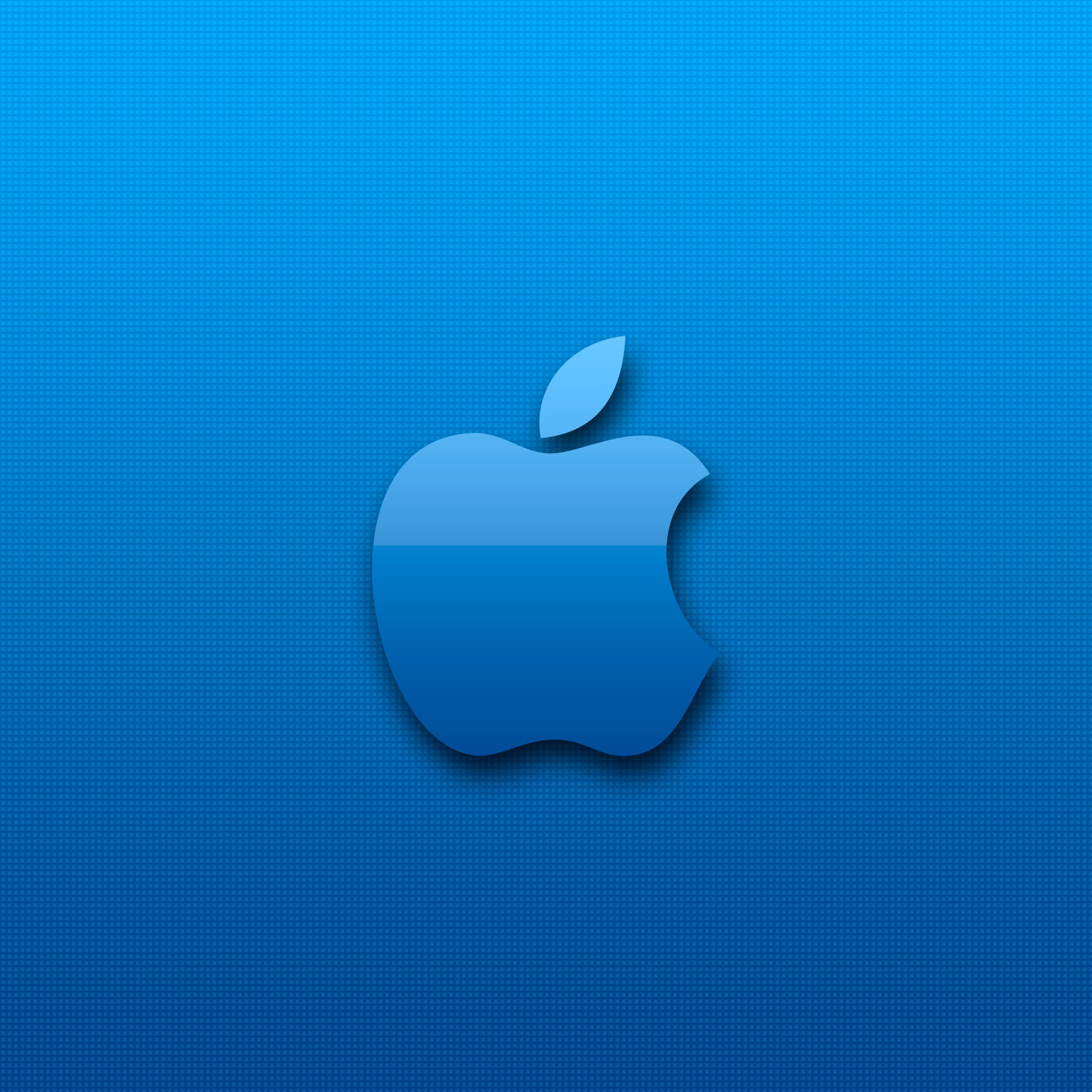 2048x2048 Blue-Apple-3Wallpapers-iPad-Retina