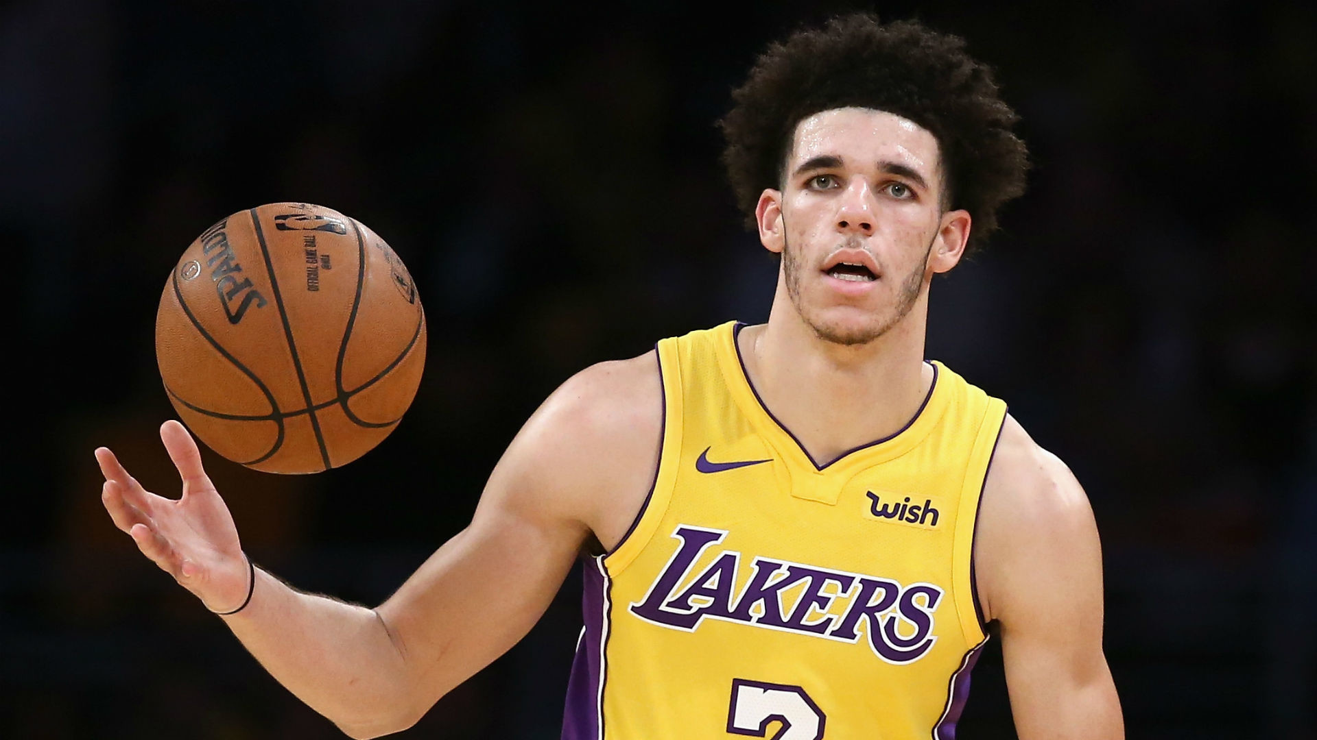 1920x1080 Magic Johnson: Lonzo Ball ready to shoot his new shot