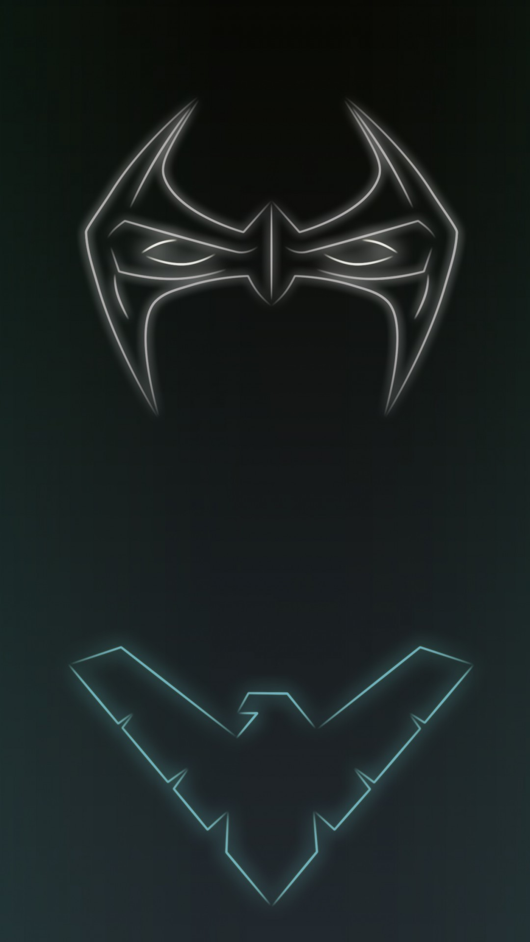 1080x1920 Neon Light Nightwing