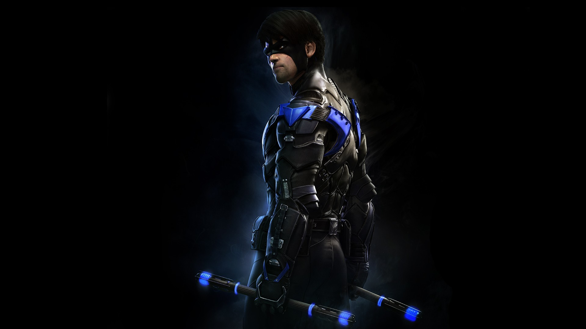 1920x1080 Video Game - Batman: Arkham Knight Nightwing Wallpaper