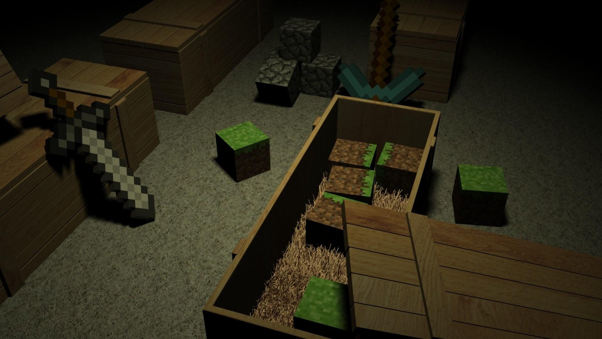 Minecraft Background Wallpaper Images - Minecraft computerspiele