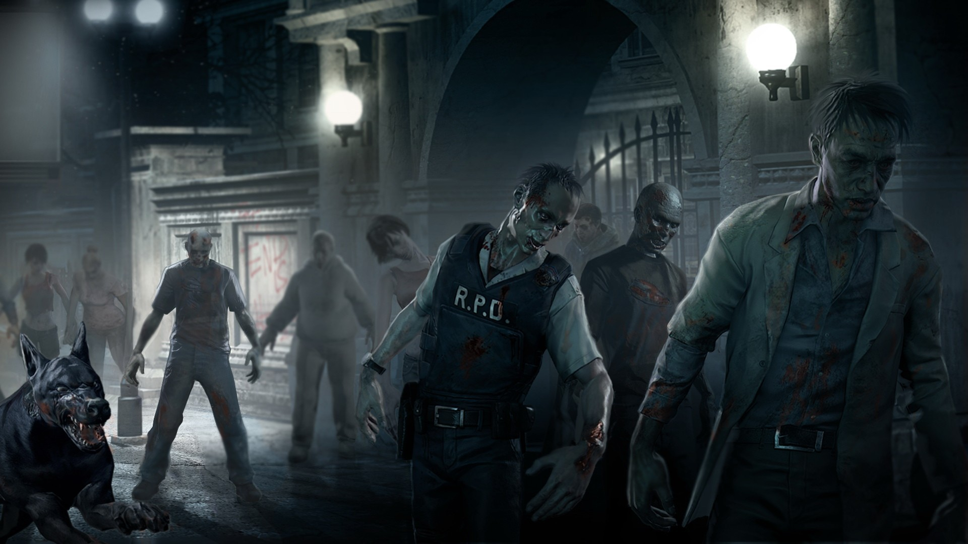 1920x1080 ... 505 Zombie HD Wallpapers | Backgrounds - Wallpaper Abyss ...