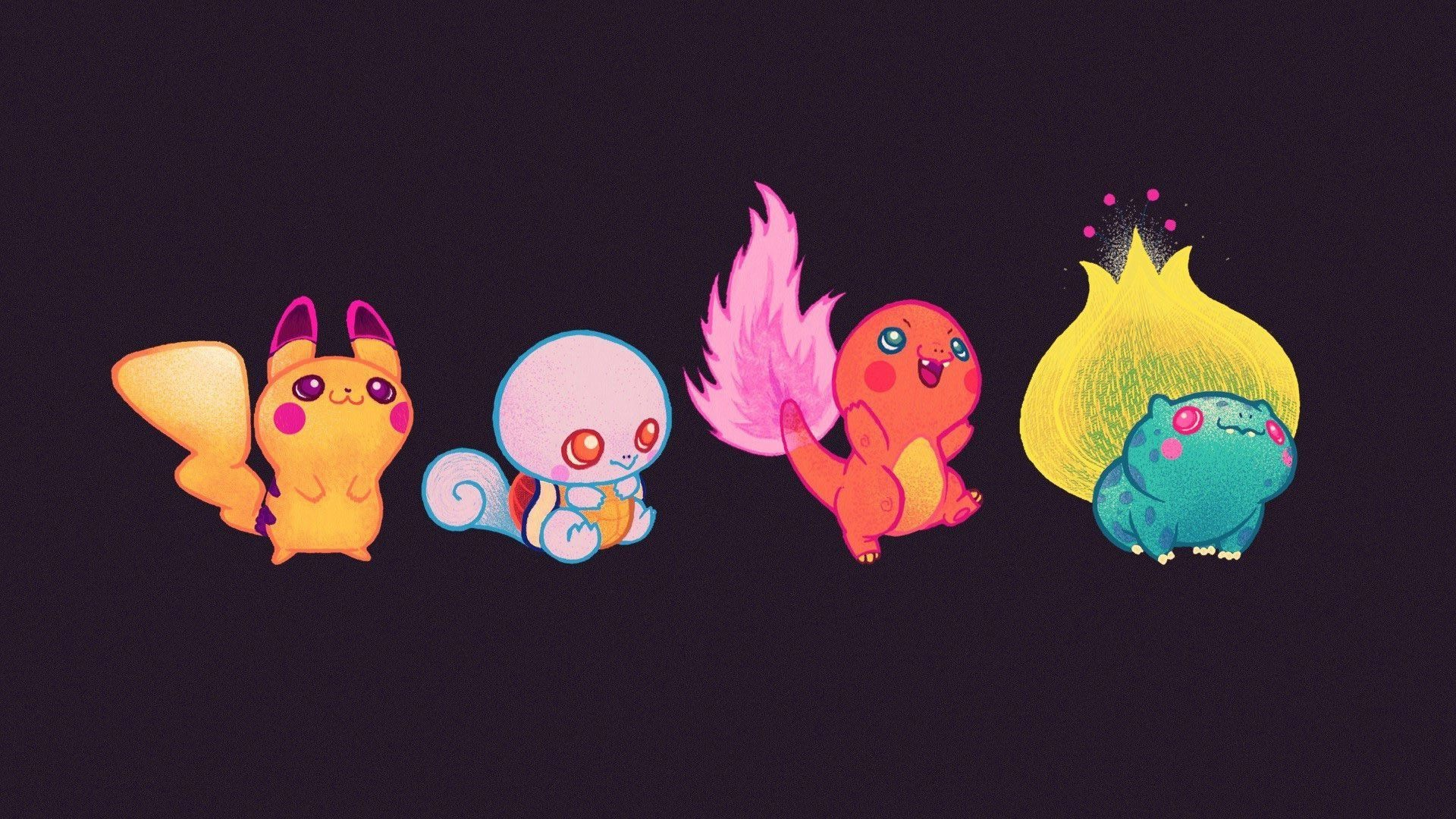 1920x1080 Cute baby Pokemon wallpaper #