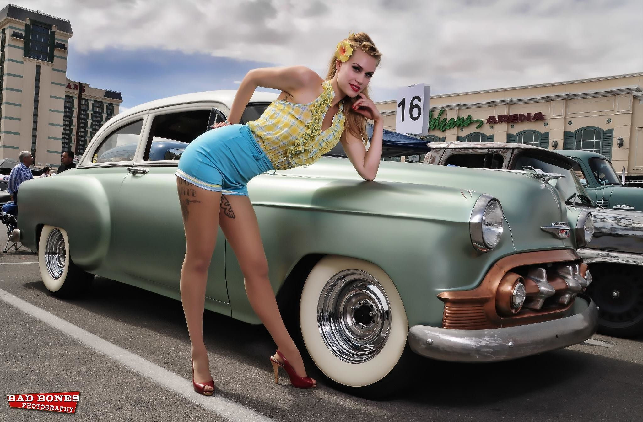 Pin up girl car naked think, that