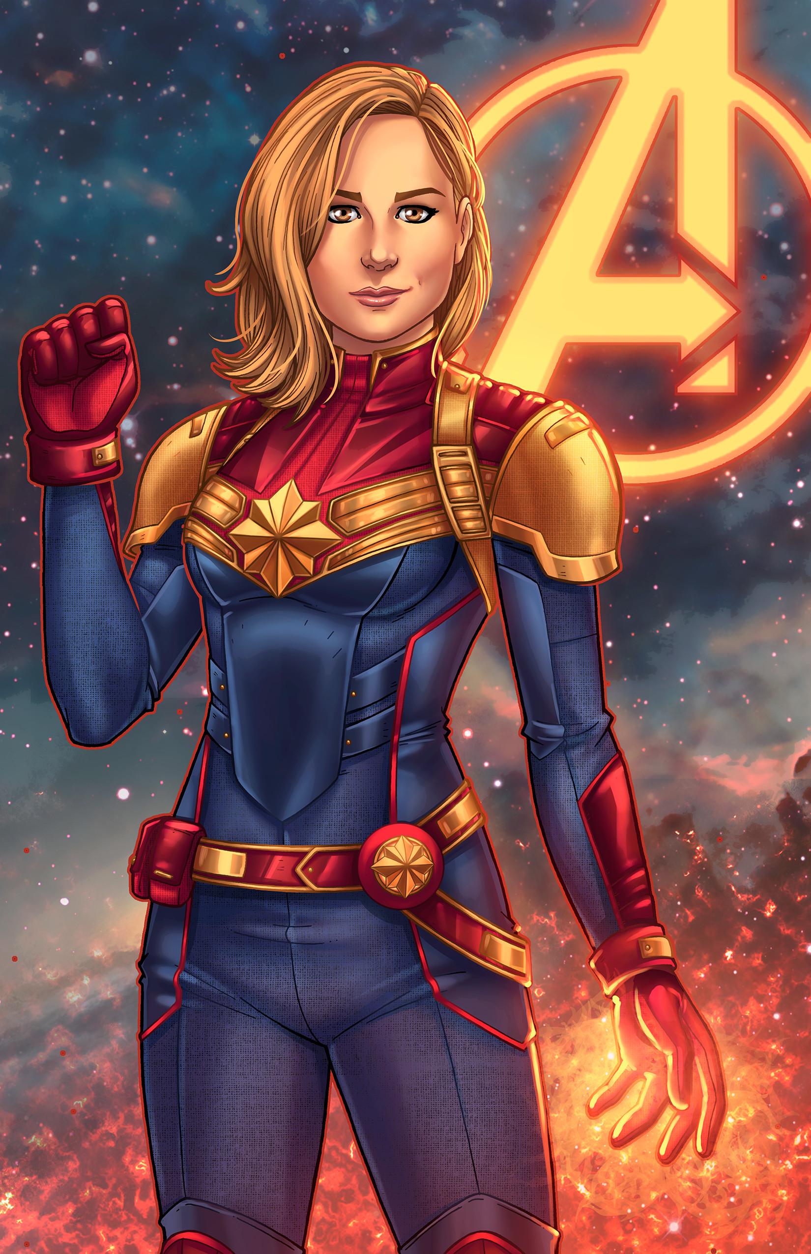 Captain Marvel Wallpaper (60+ images)