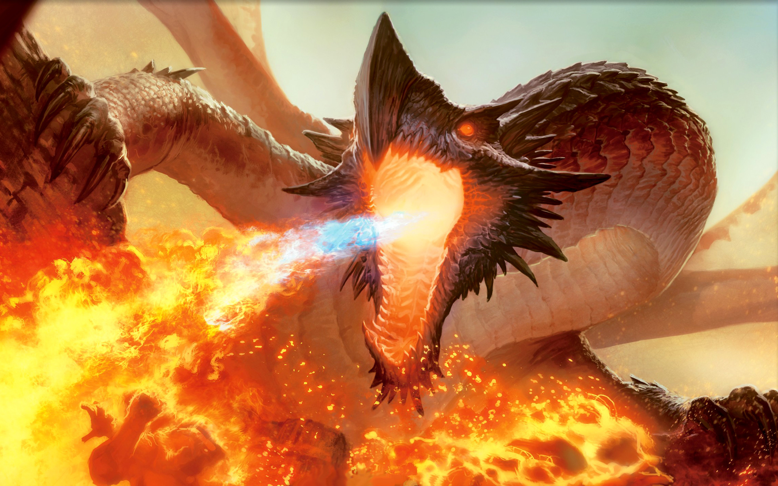 2560x1600 Fantasy Dragon - Dragons Wallpaper (27155012) - Fanpop