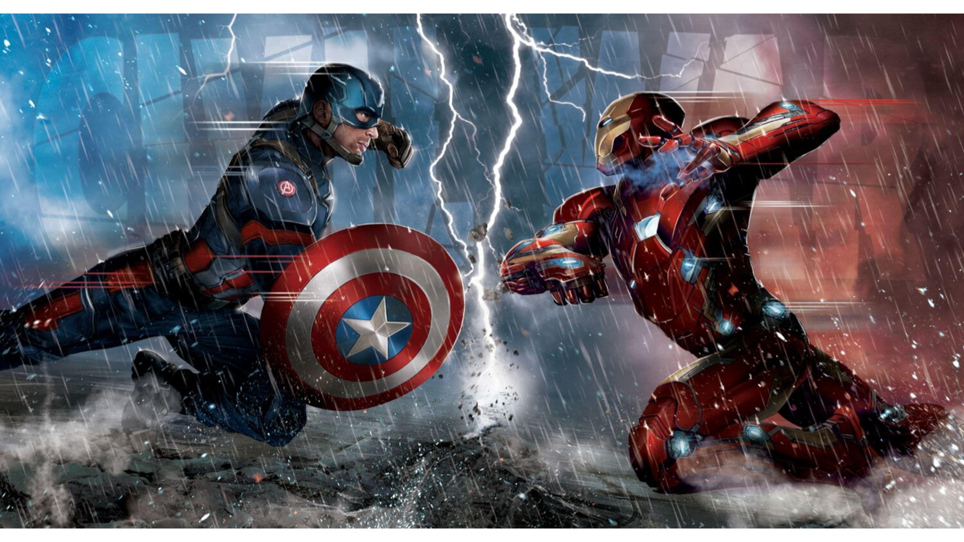Captain America Civil War 4k: American Civil War Wallpaper (65+ Images