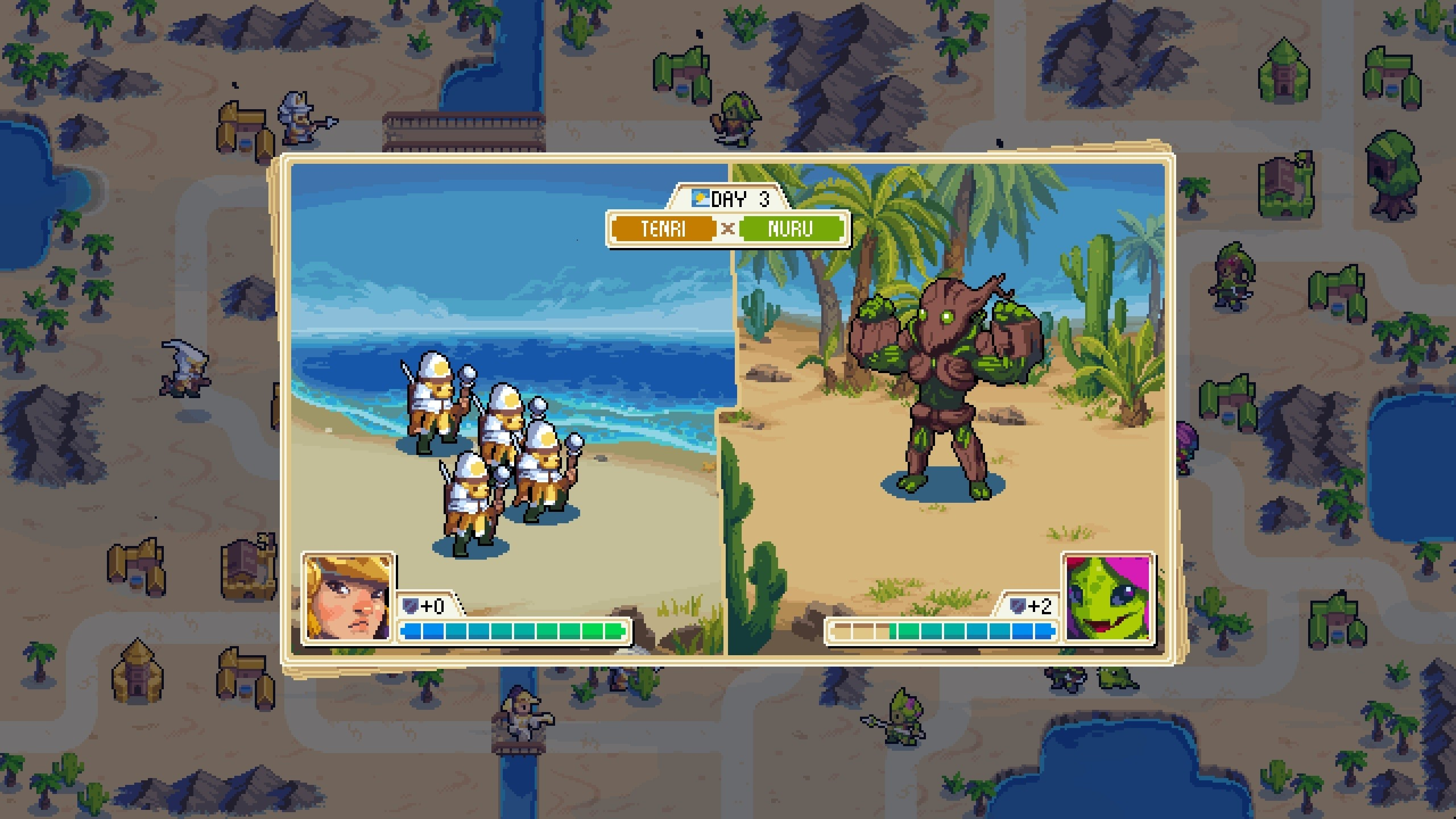 2560x1440 Combining a beautiful pixel aesthetic with deep, compelling strategy  mechanics, Wargroove will be a familiar sight to anyone who's a fan of the Advance  Wars ...