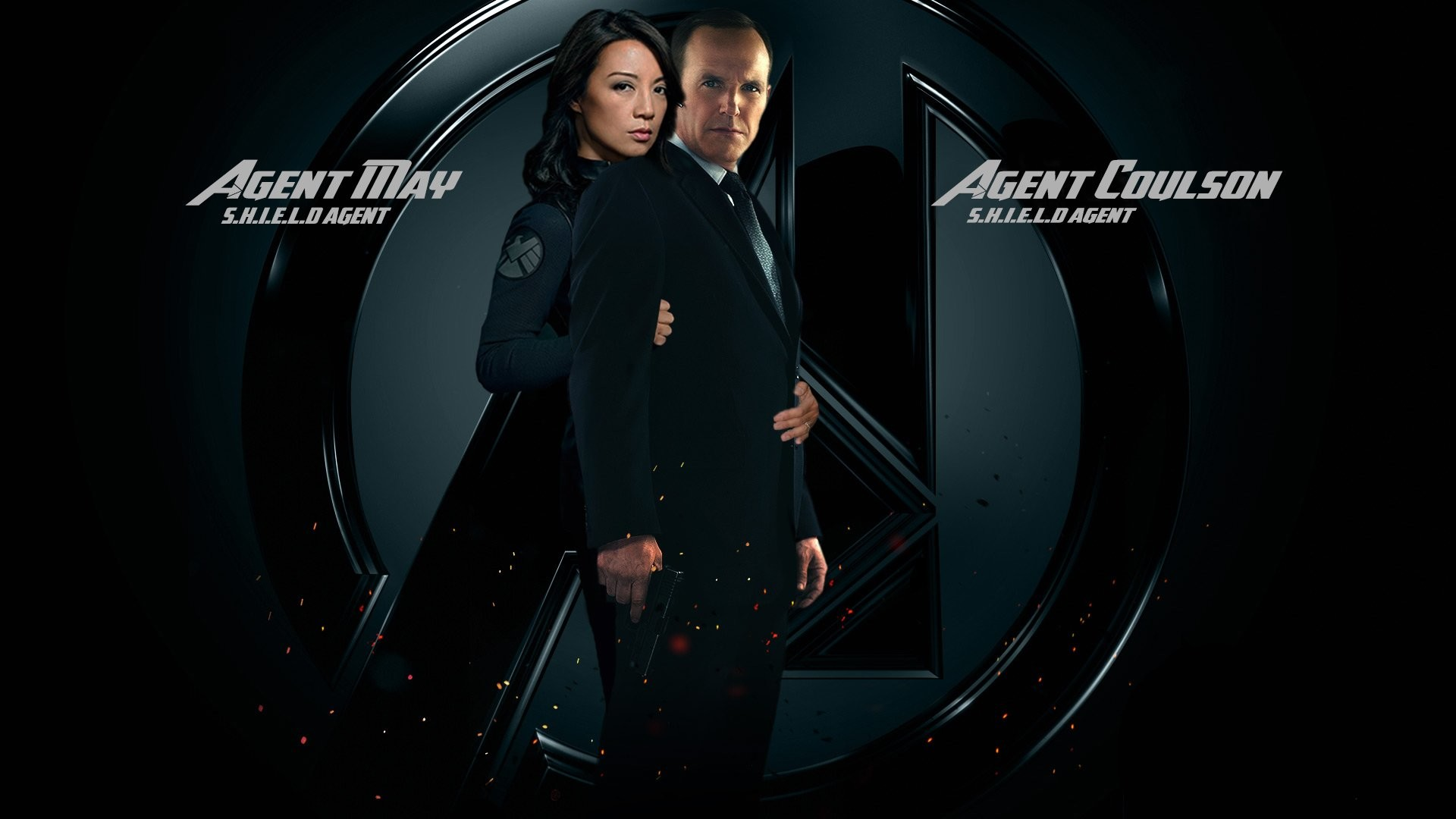 1920x1080 AGENTS OF SHIELD action drama sci fi marvel comic series crime 43