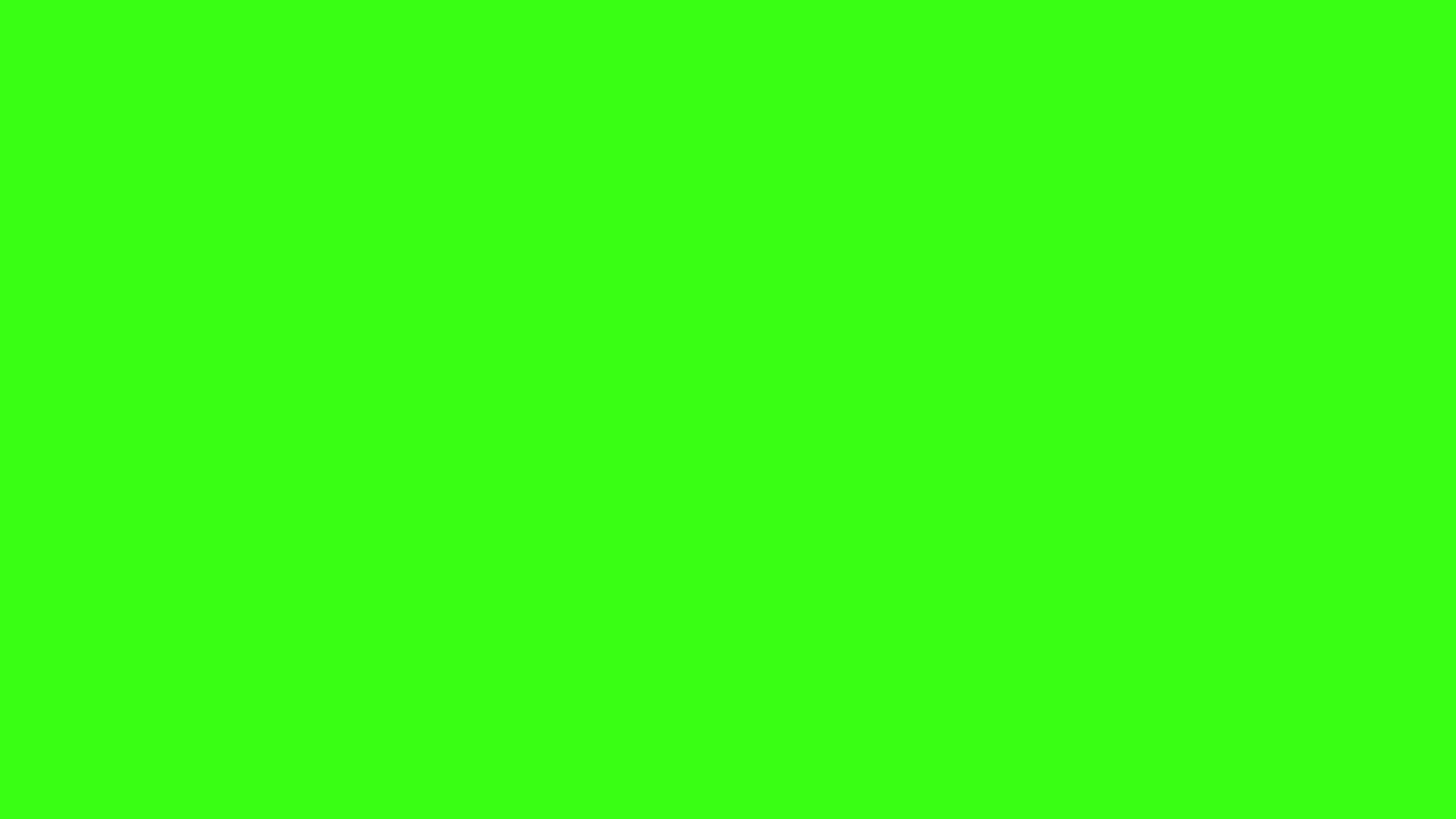 2560x1440  Neon Green Solid Color Background