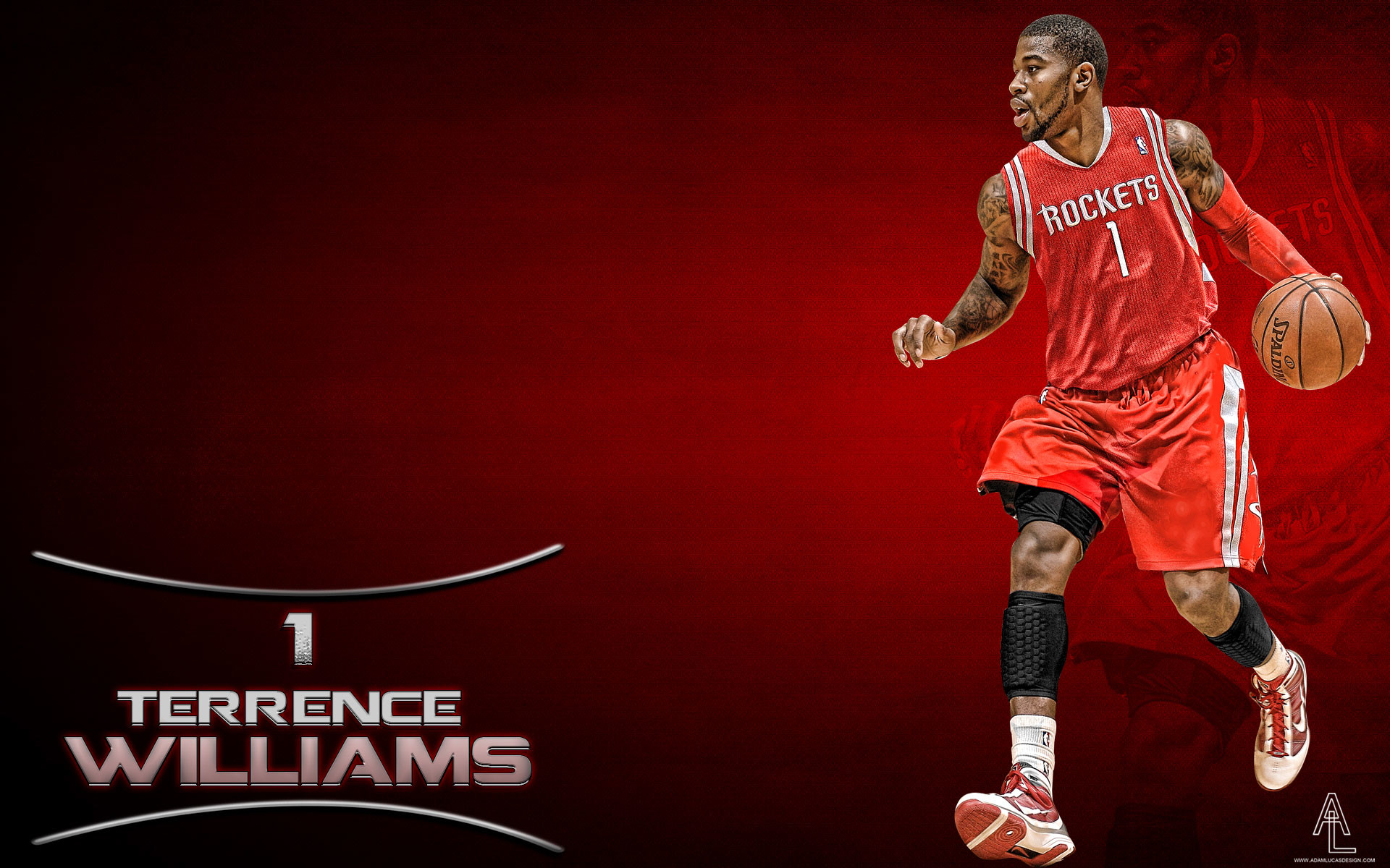 1920x1200 Terrence Williams Rockets  Widescreen Wallpaper