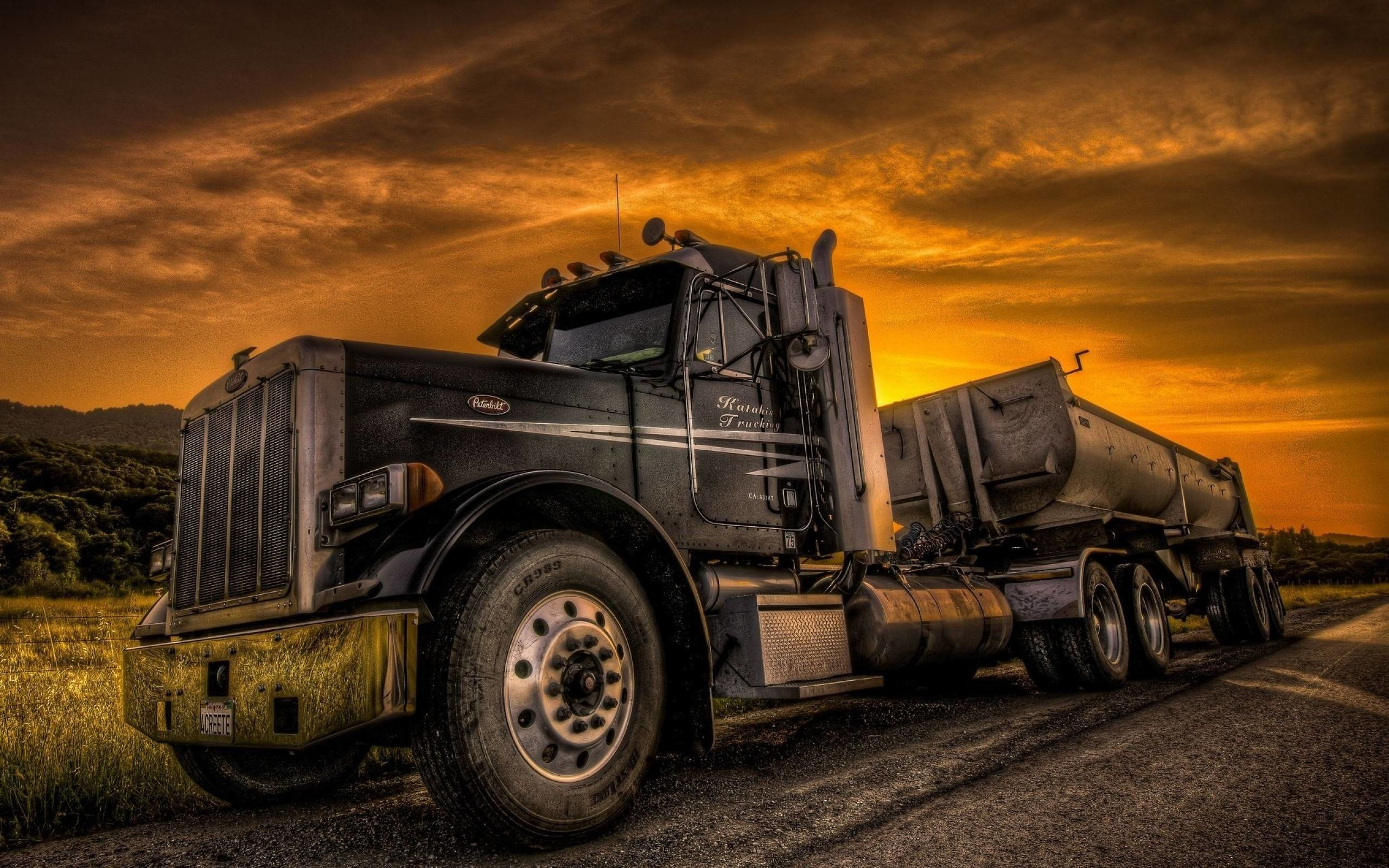 2560x1600 ... cool semi truck wallpaper · Download Image