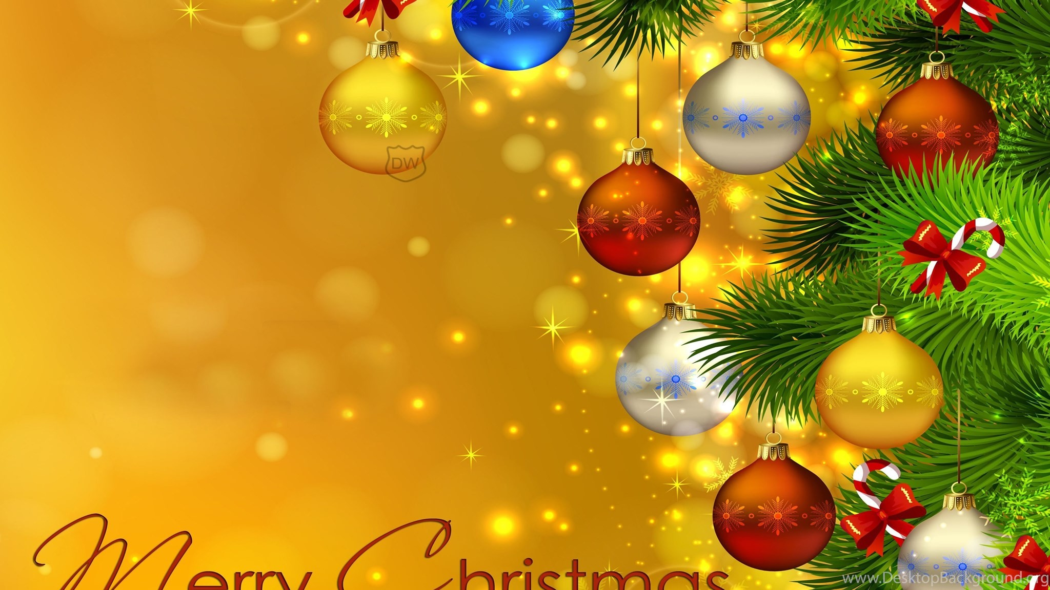 2048x1152 ... Free Christmas Wallpaper For Dual Monitors Wallpaper Directory