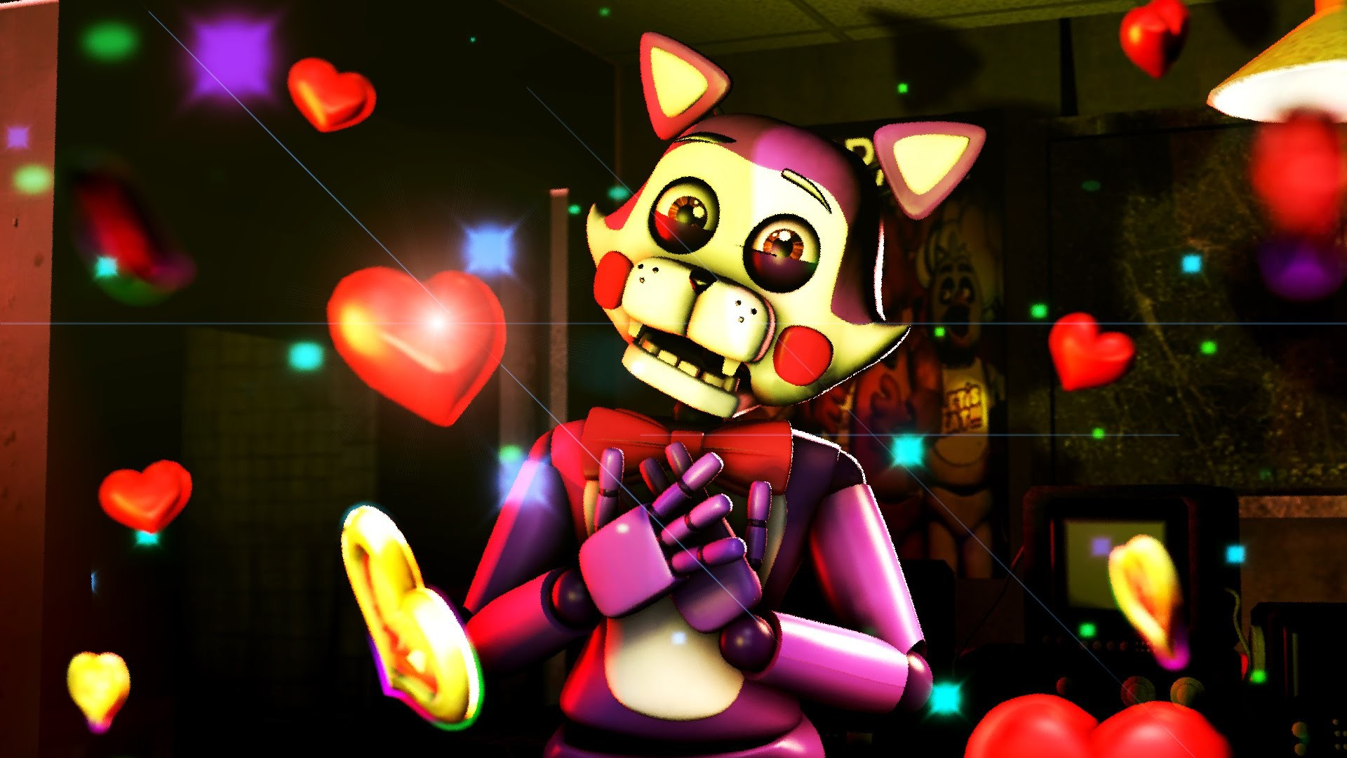 1920x1080 SFM /FNAF FNAC CINDY JUMP LOVE FIVE NIGHTS AT CANDY'S ANIMATION - YouTube