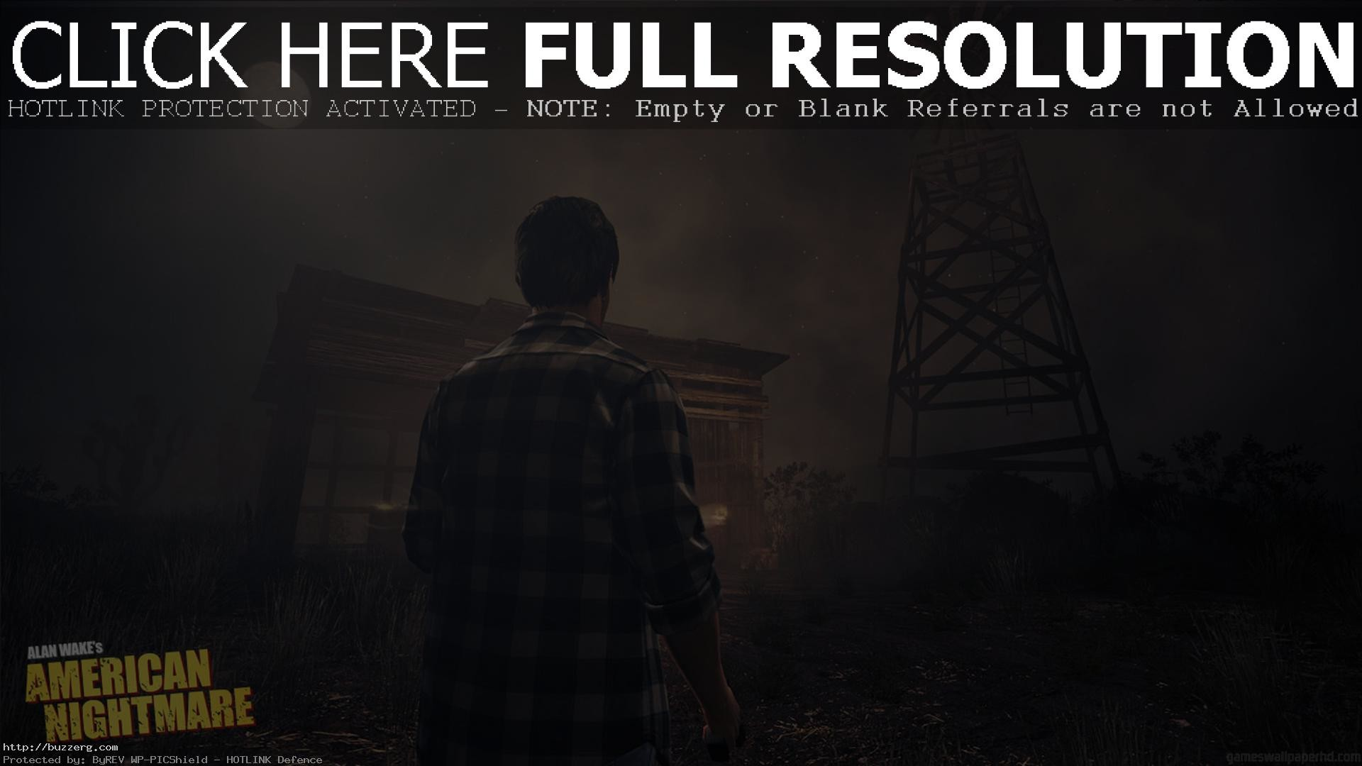 1920x1080 Alan Wake American Nightmare (id: 80157)