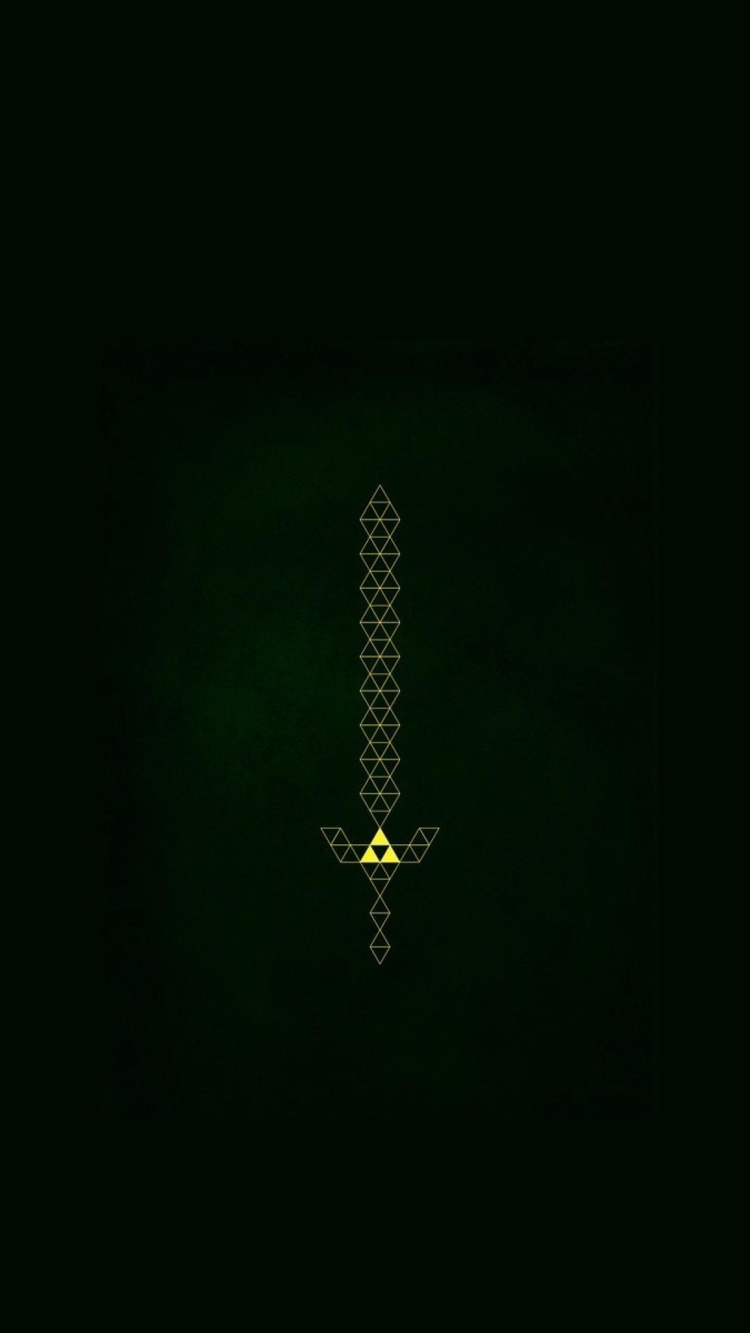 1080x1920 The Master Sword by sirneko