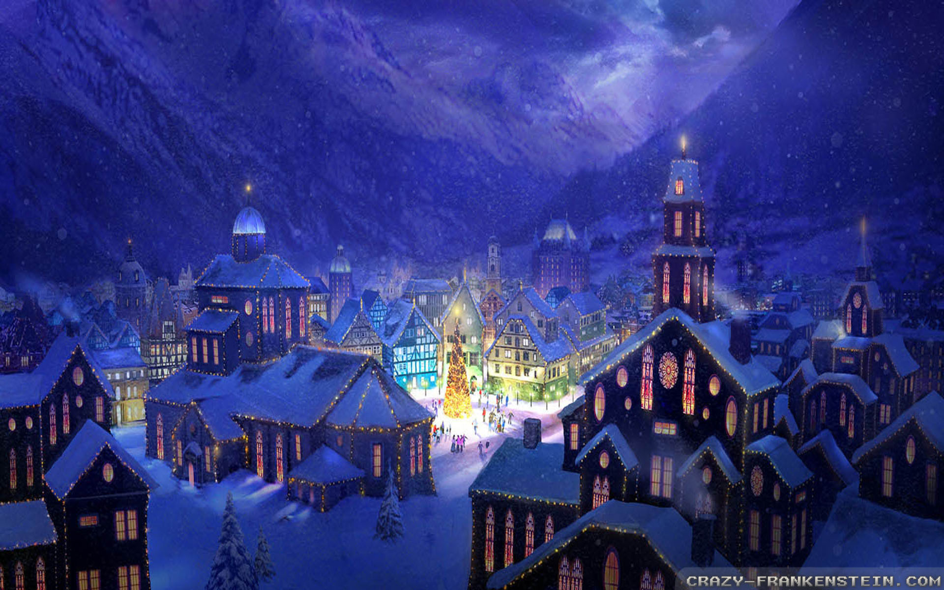 Christmas Scenery Wallpapers (60+ Images