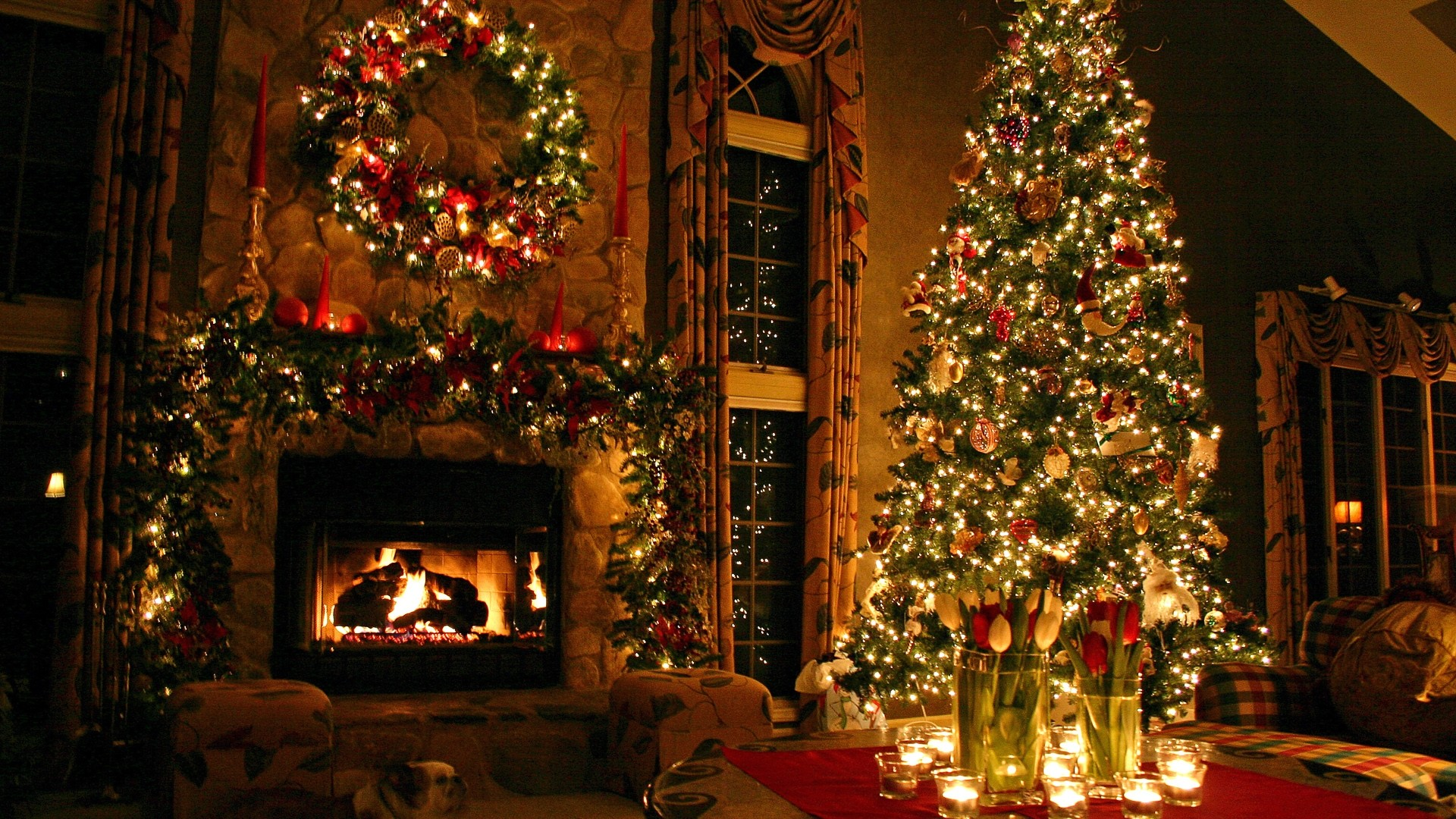 Christmas Wallpapers For Desktop 1920x1080 64 Images
