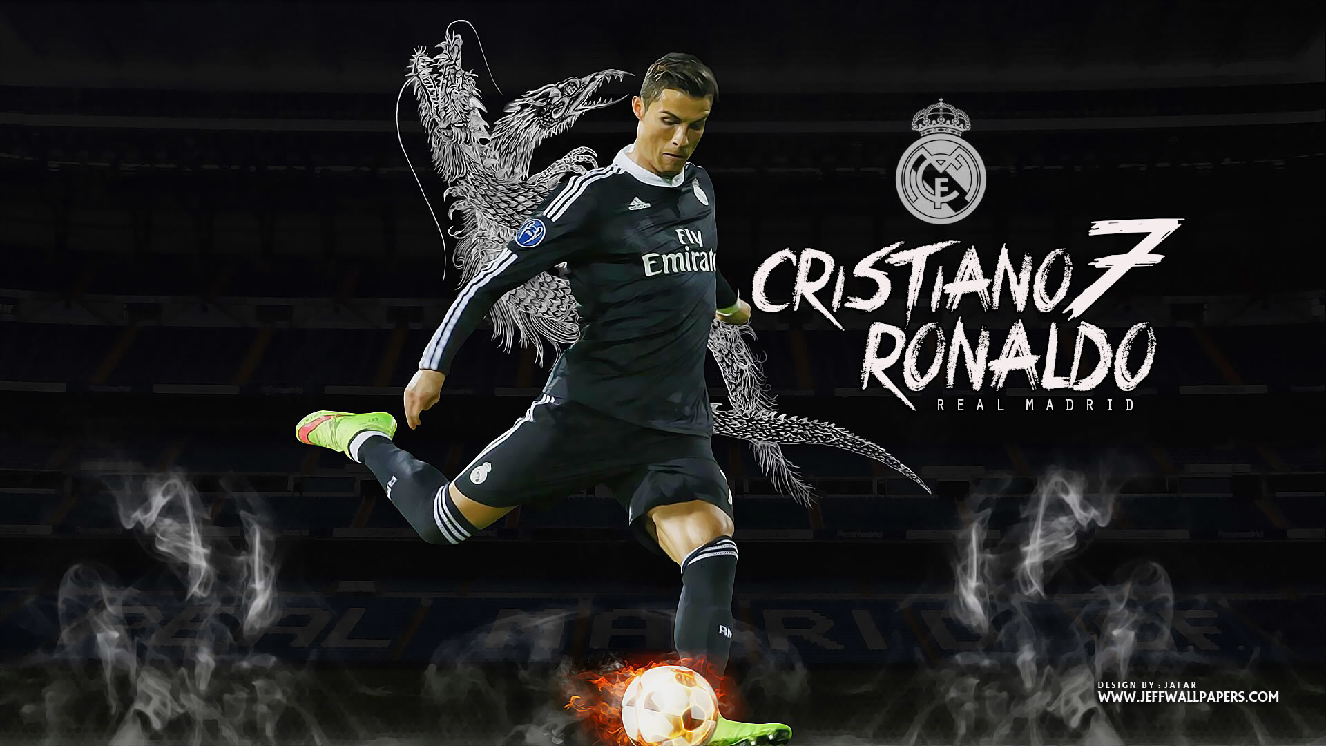 1920x1080 Cristiano Ronaldo Real Madrid wallpaper by Jafarjeef