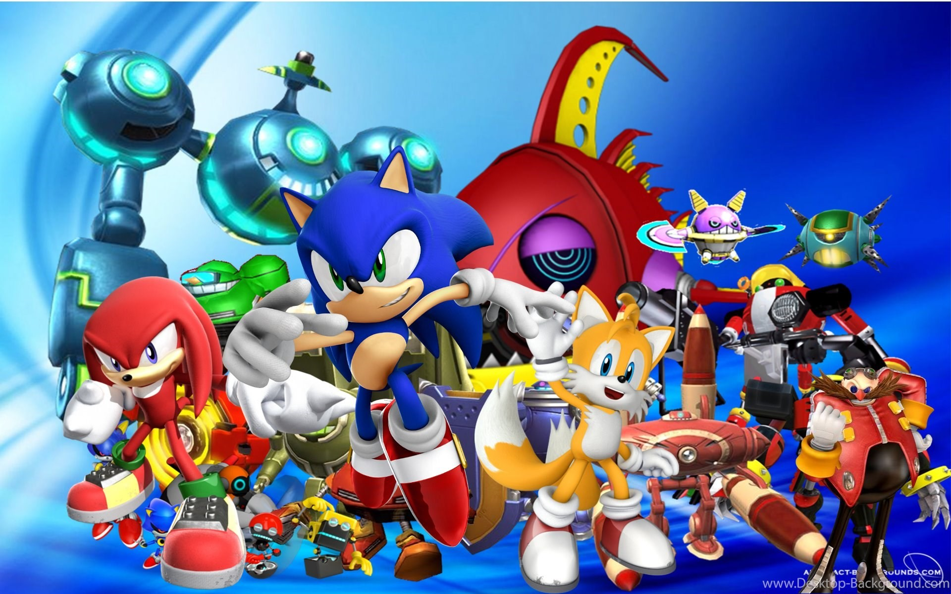 Sonic the Hedgehog Backgrounds (81+ images)