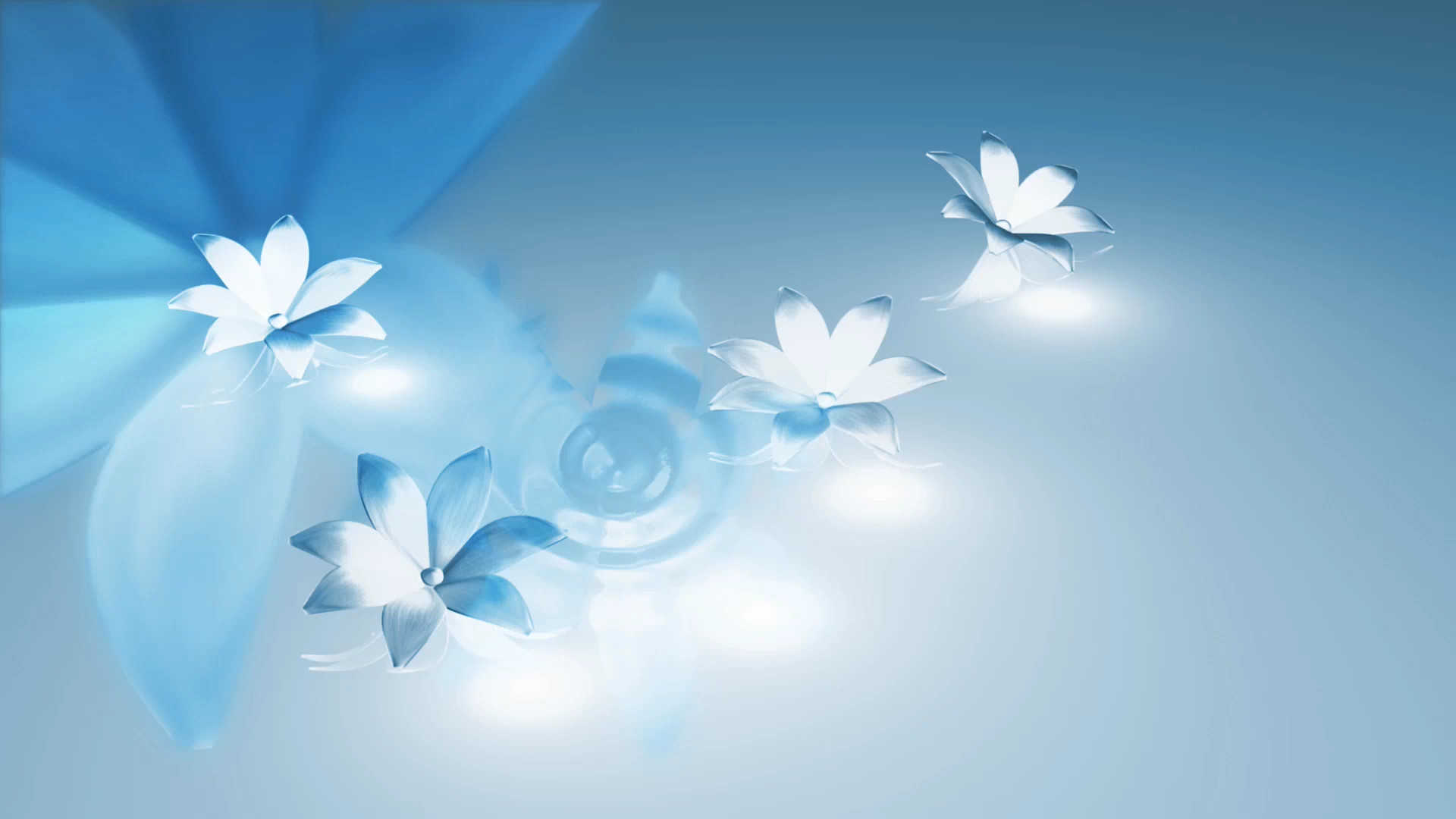 1920x1080 Blue Flower backgrounds