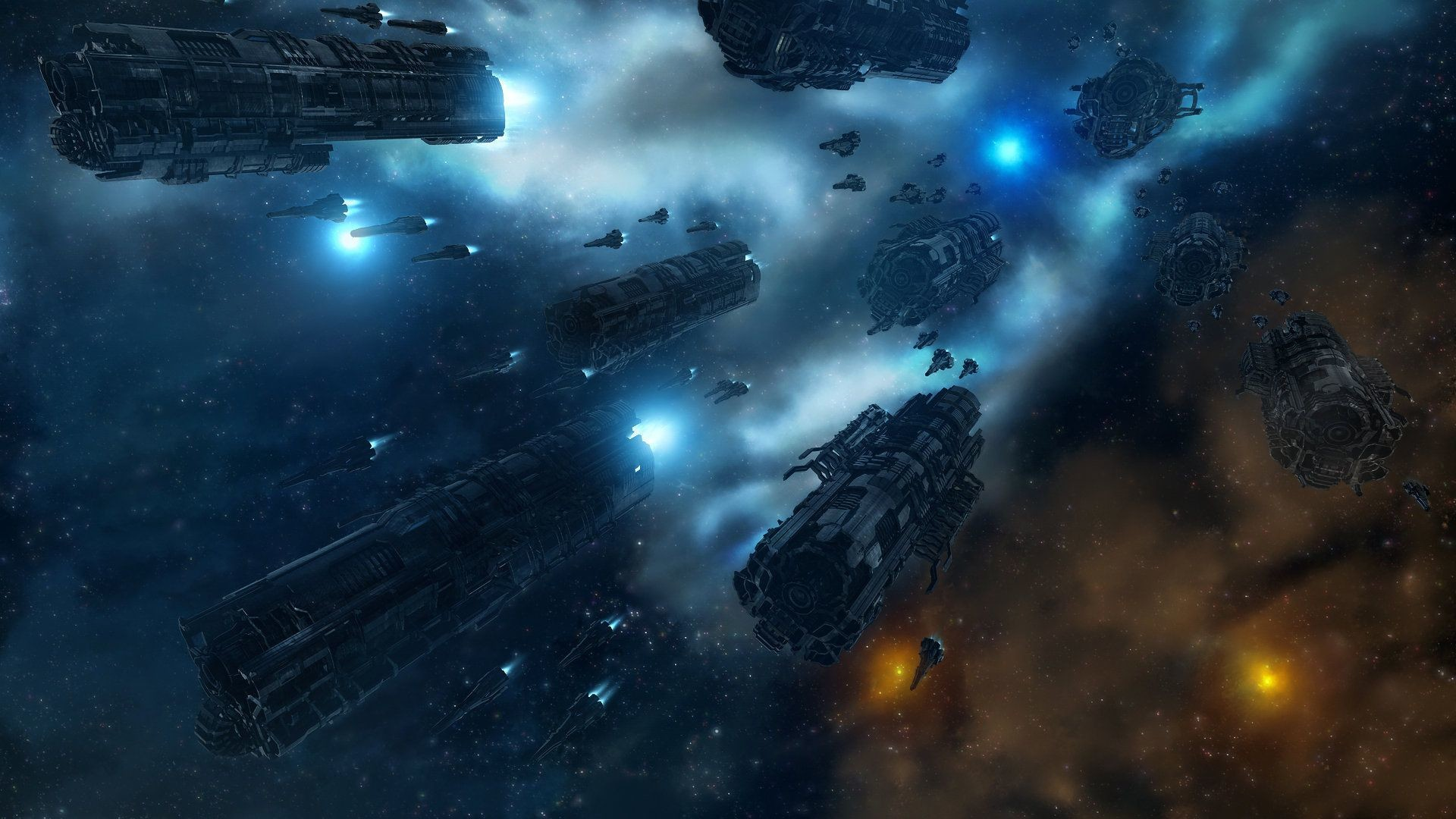 1920x1080 Spaceship Wallpaper Hd wallpaper - 1246148