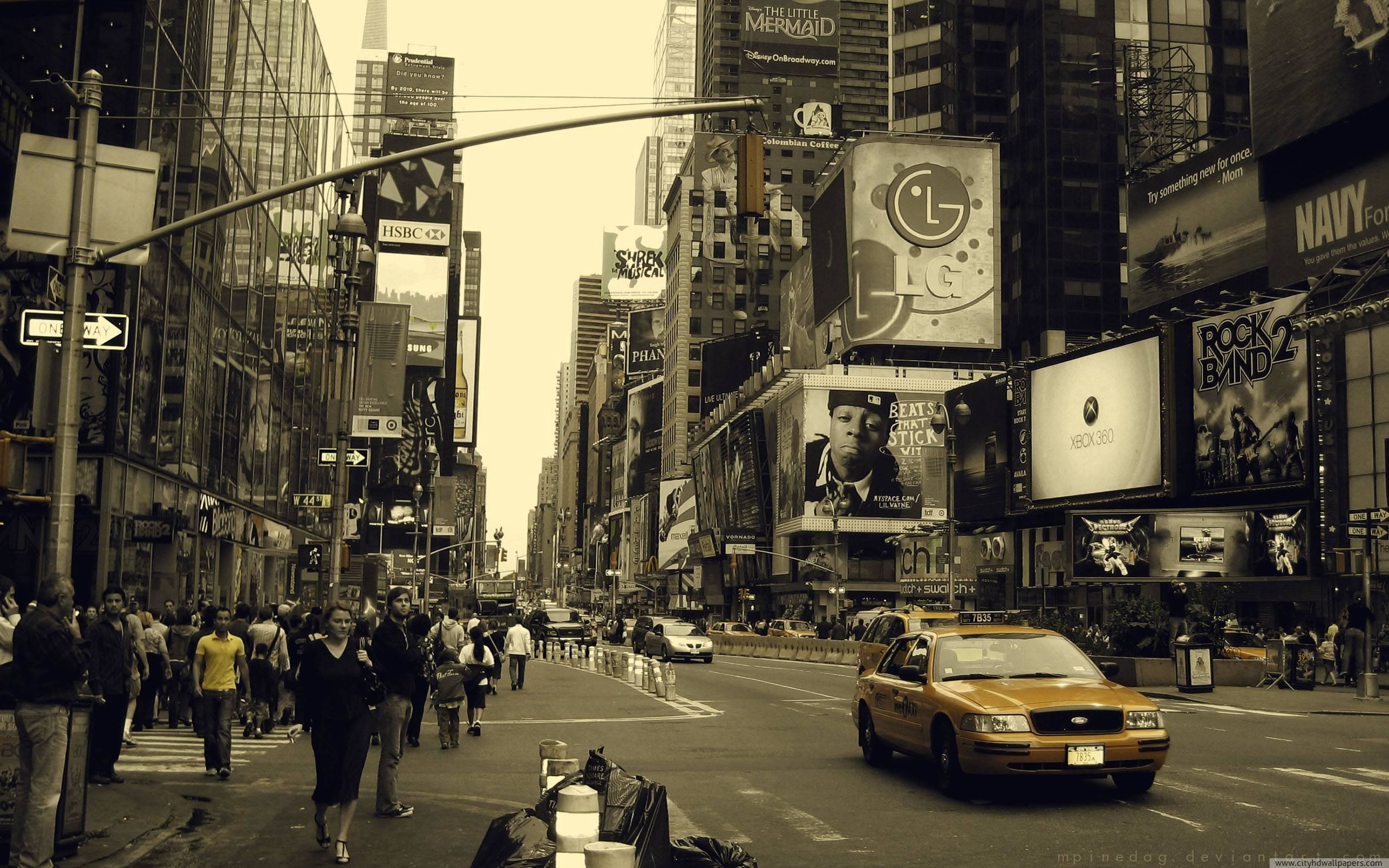 2560x1600 street of new york city in new york usa city hd wallpaper more about .