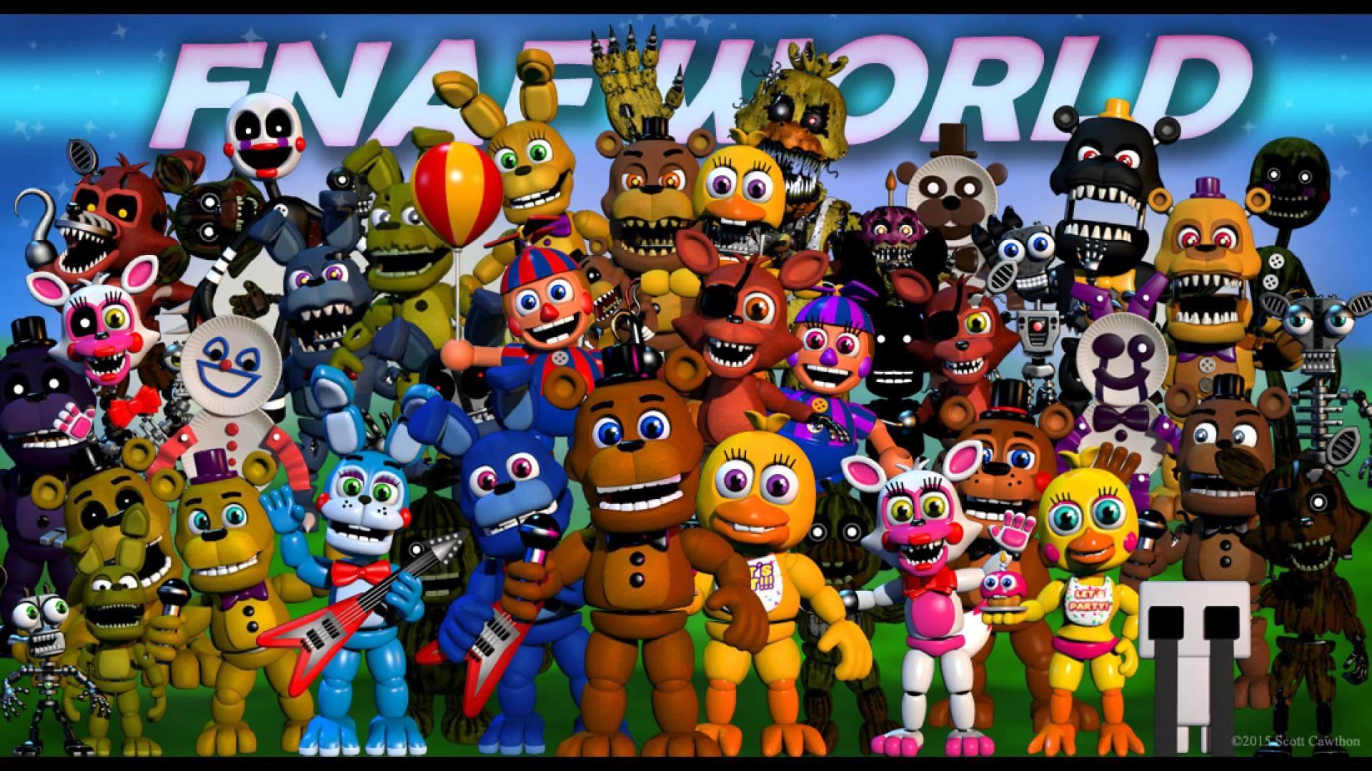 fnaf world 2 download full version