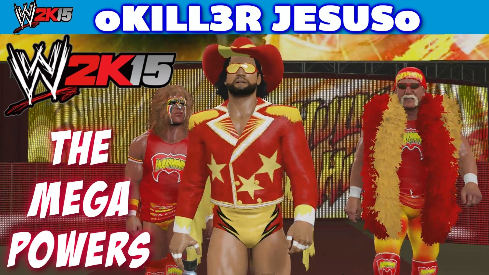 1920x1080 WWE 2K15 The Mega Powers - Hulk Hogan Ultimate Warrior Macho Man I PS4 XBOX  ONE - YouTube