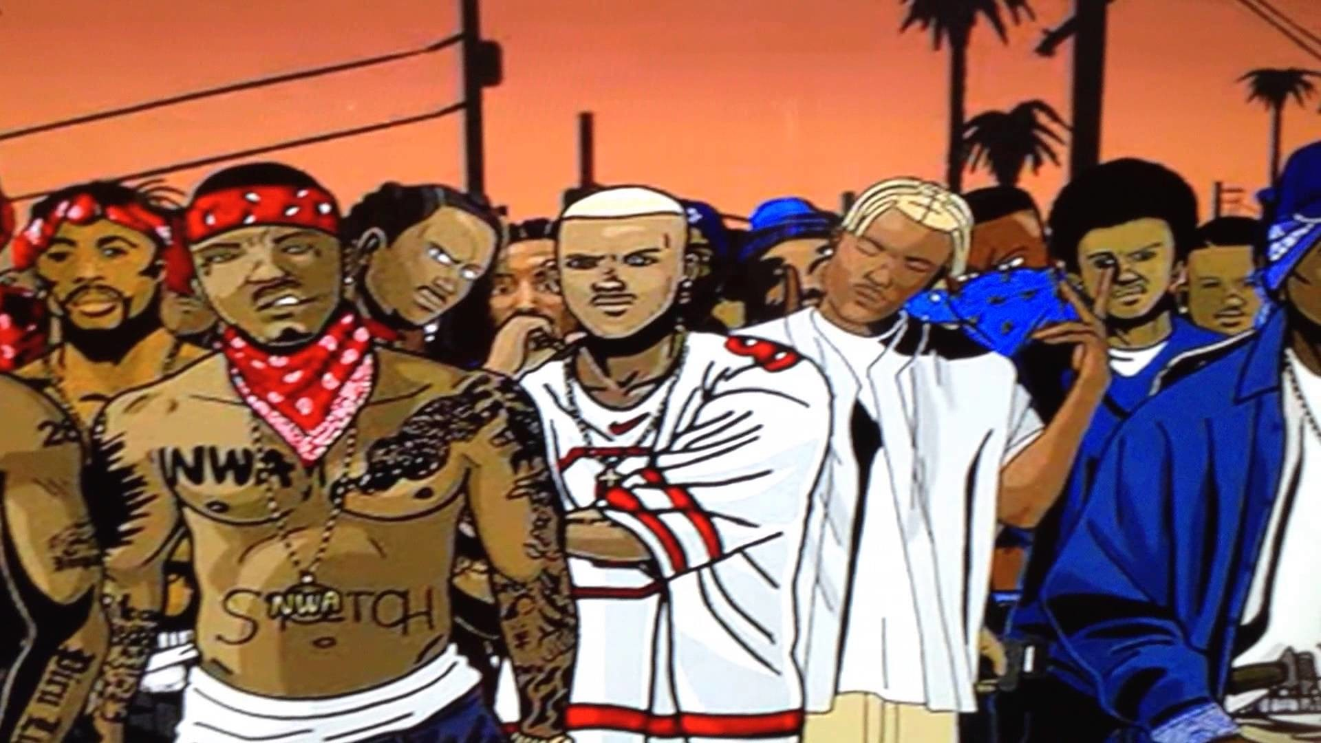 1920x1080 100 bloods and crips the game