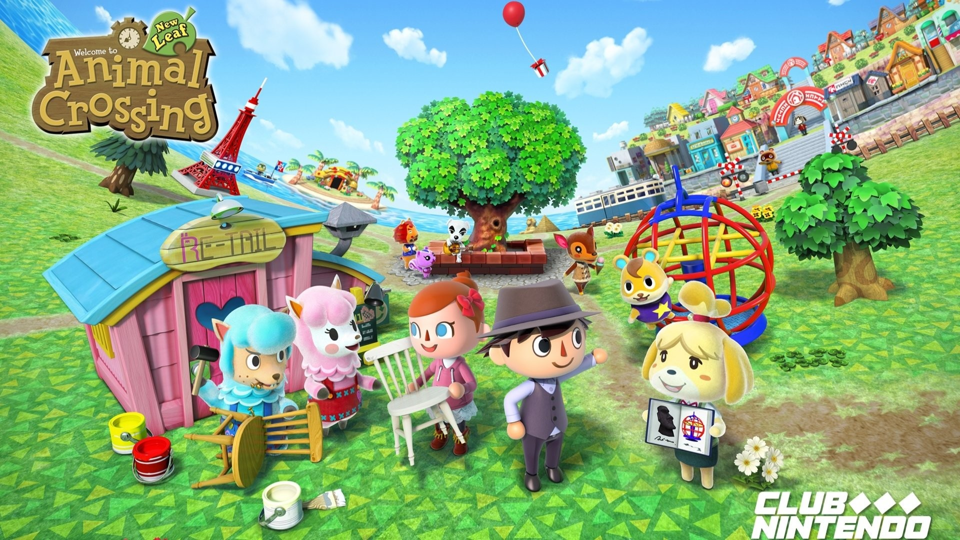 Animal Crossing Hd Wallpaper 82 Images