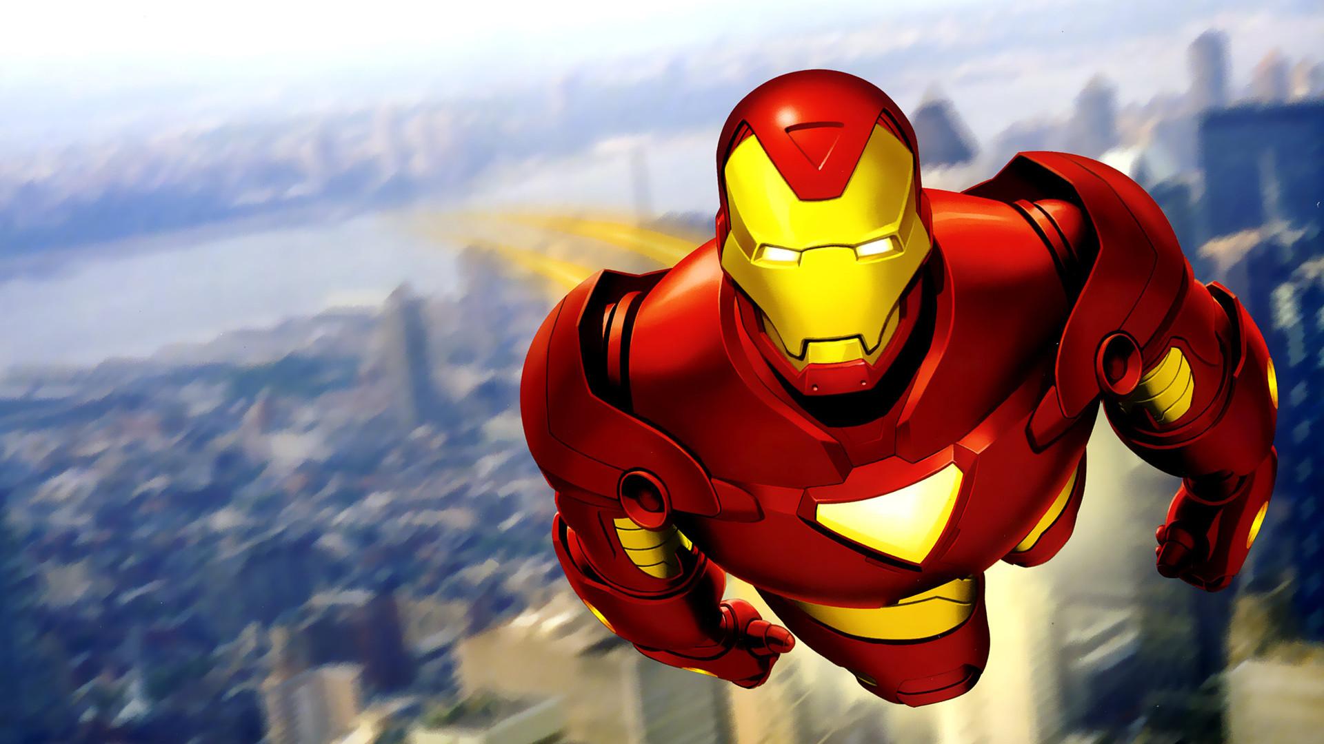Best cartoon wallpapers 69 images - Iron man cartoon wallpaper ...