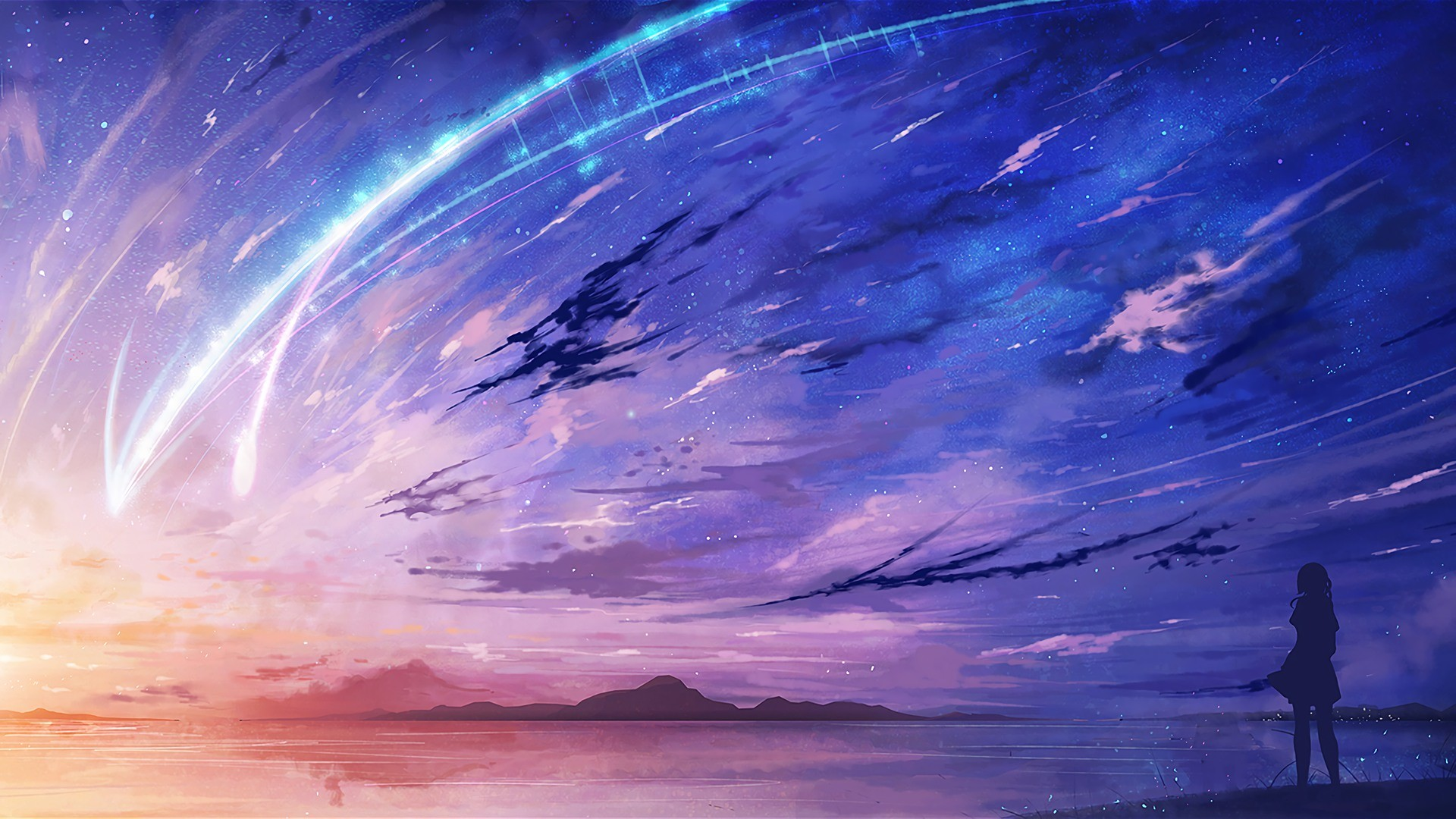 Anime scenery wallpaper 48 images - Anime background ...