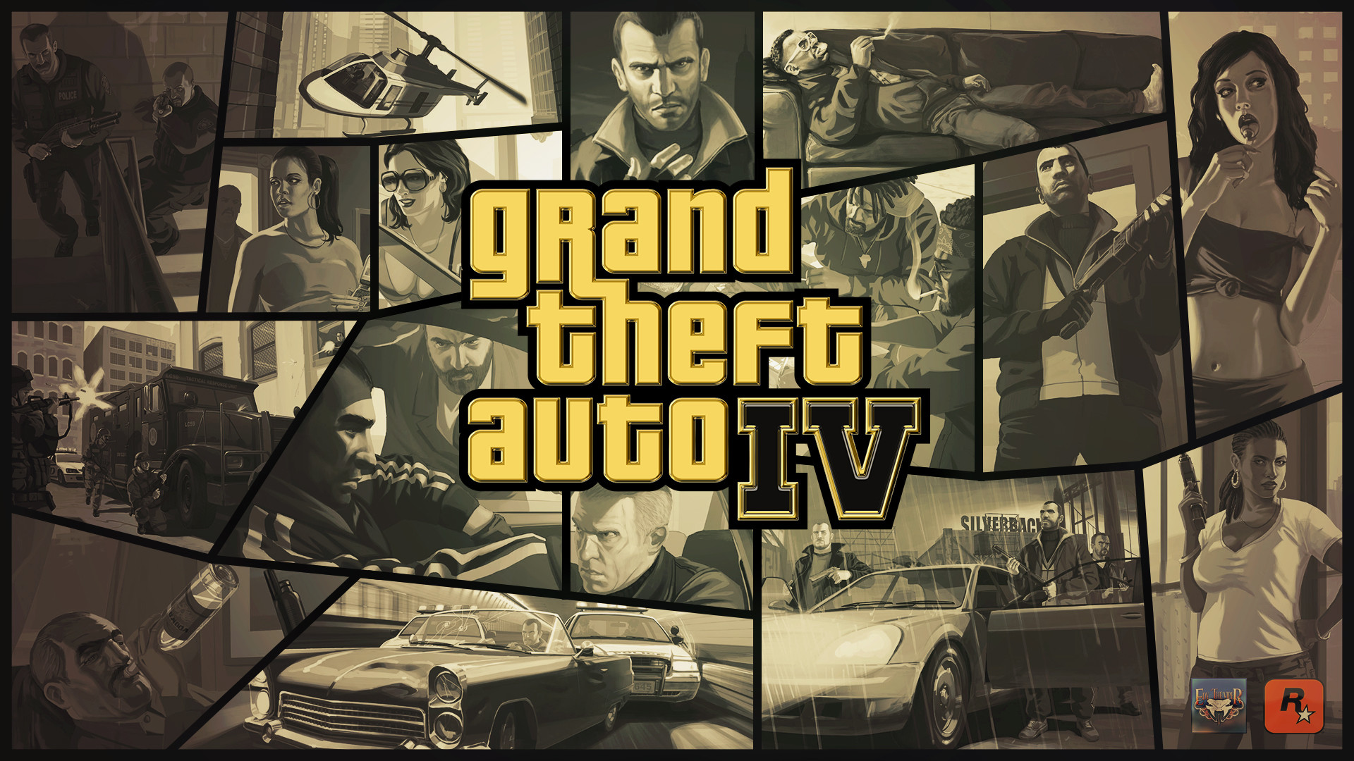 Grand Theft Auto 5 Wallpaper: GTA IV Wallpapers (73+ Images
