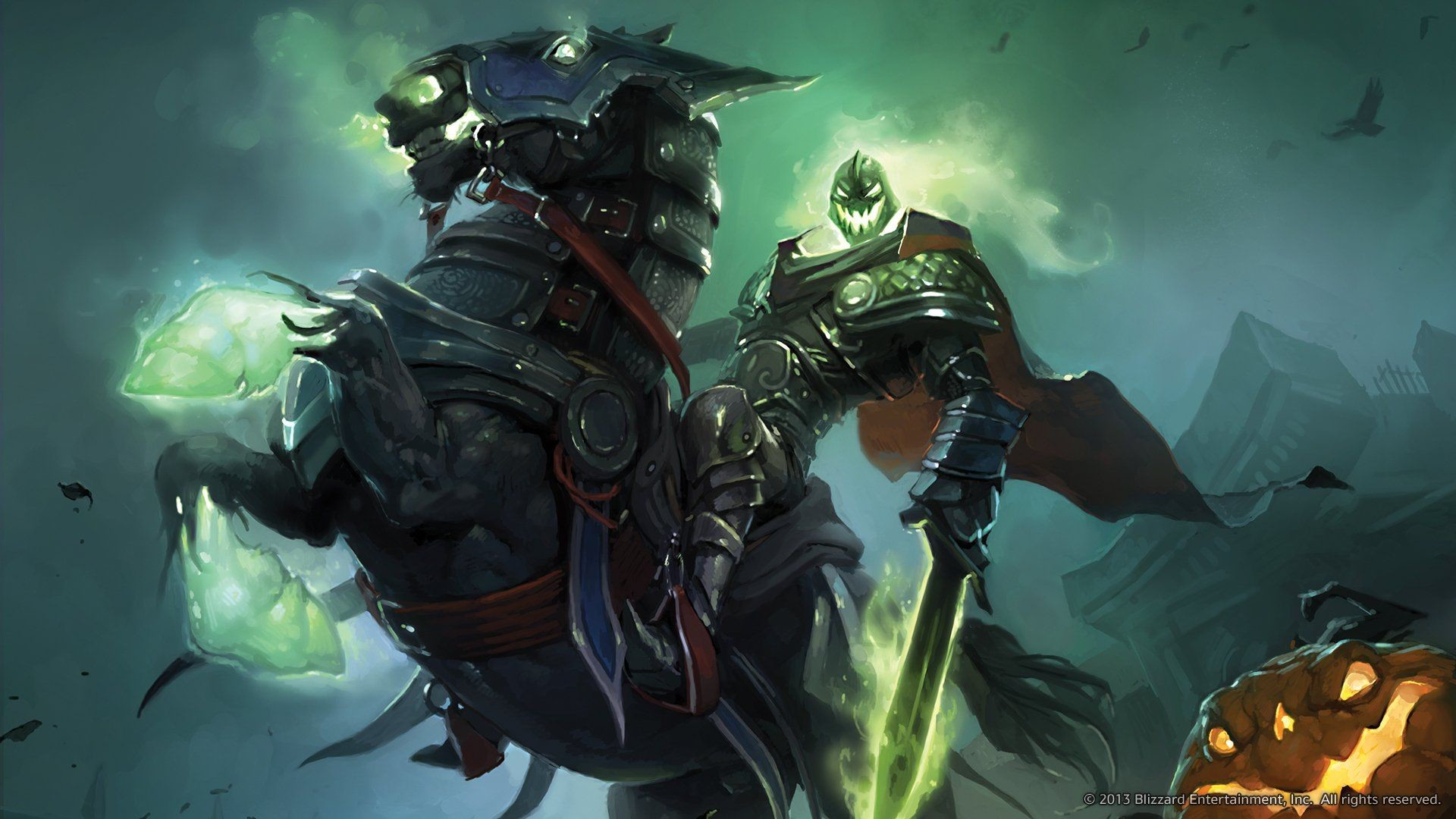 1920x1080 World of WarCraft ( WoW ) Monster Magic Headless Horseman Hallows .