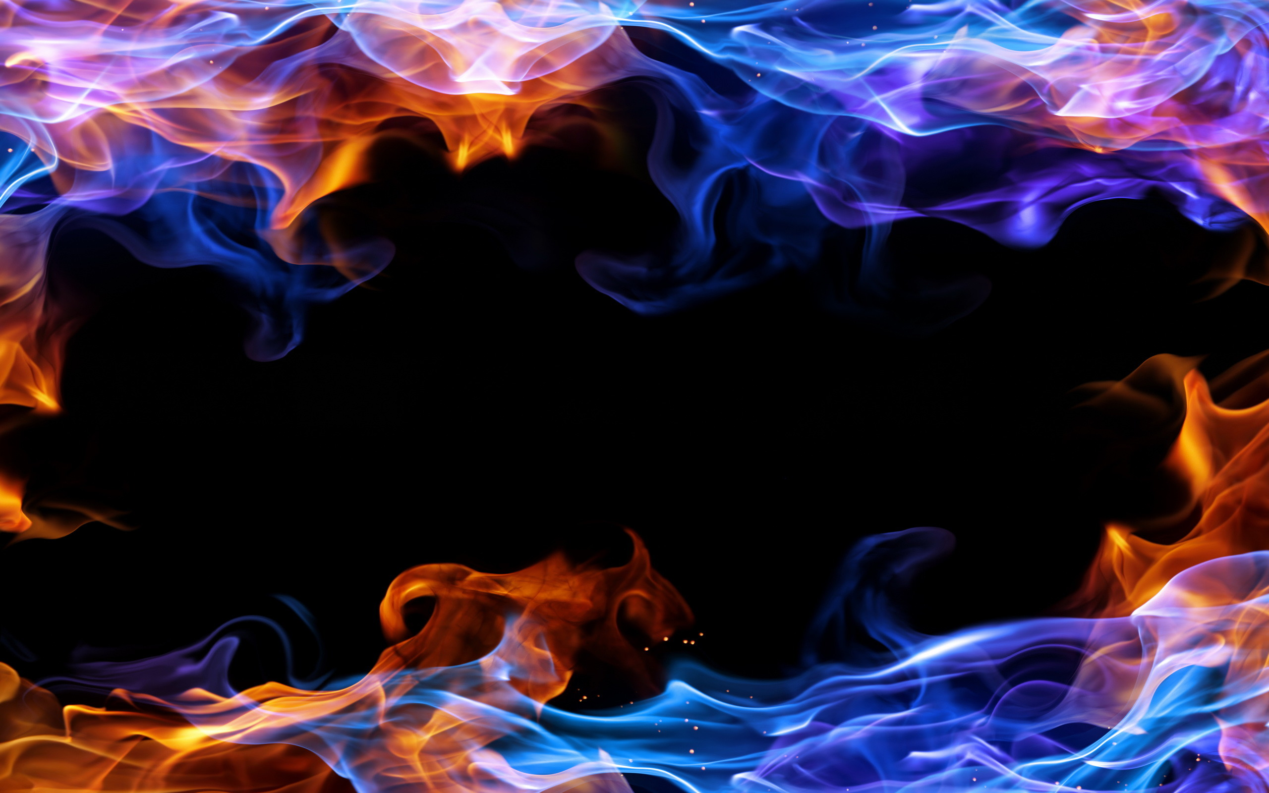 Blue and red fire wallpaper 65 images - Phone wallpapers fire ...