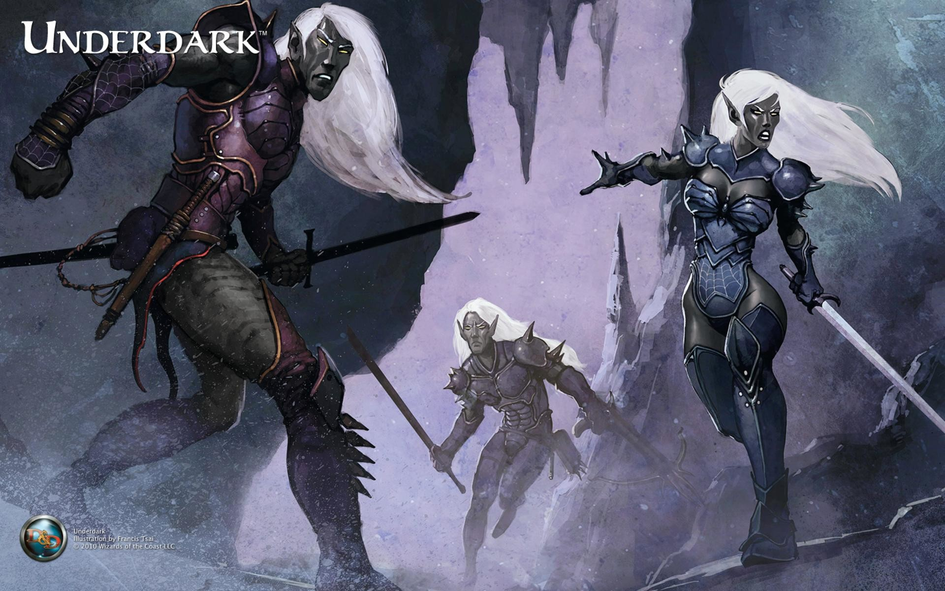 1920x1200 http://pic1.win4000.com/wallpaper/0/510a035a5c6f6.jpg | Dungeons & Dragons  | Pinterest | Dark elf, Fantasy characters and RPG