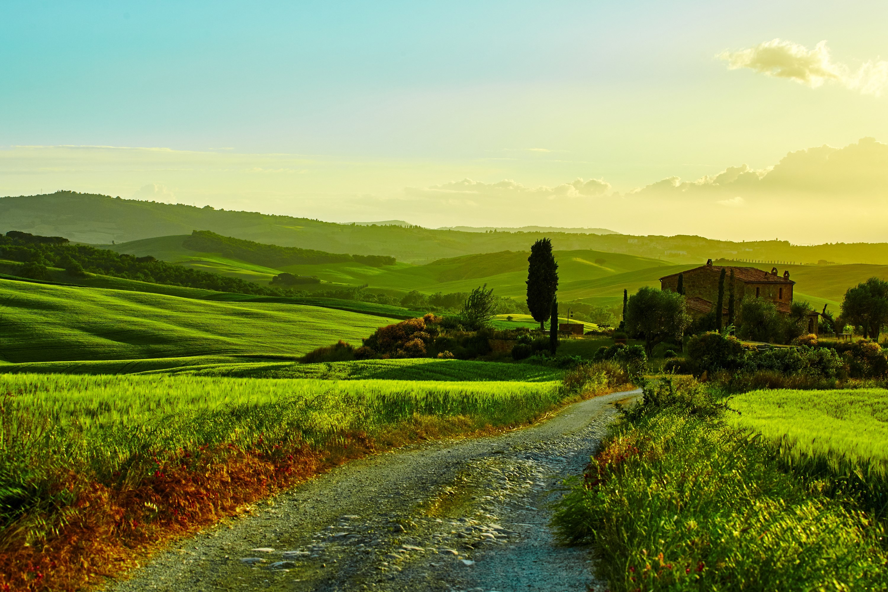 3000x2000 high resolution wallpapers widescreen tuscany - tuscany category