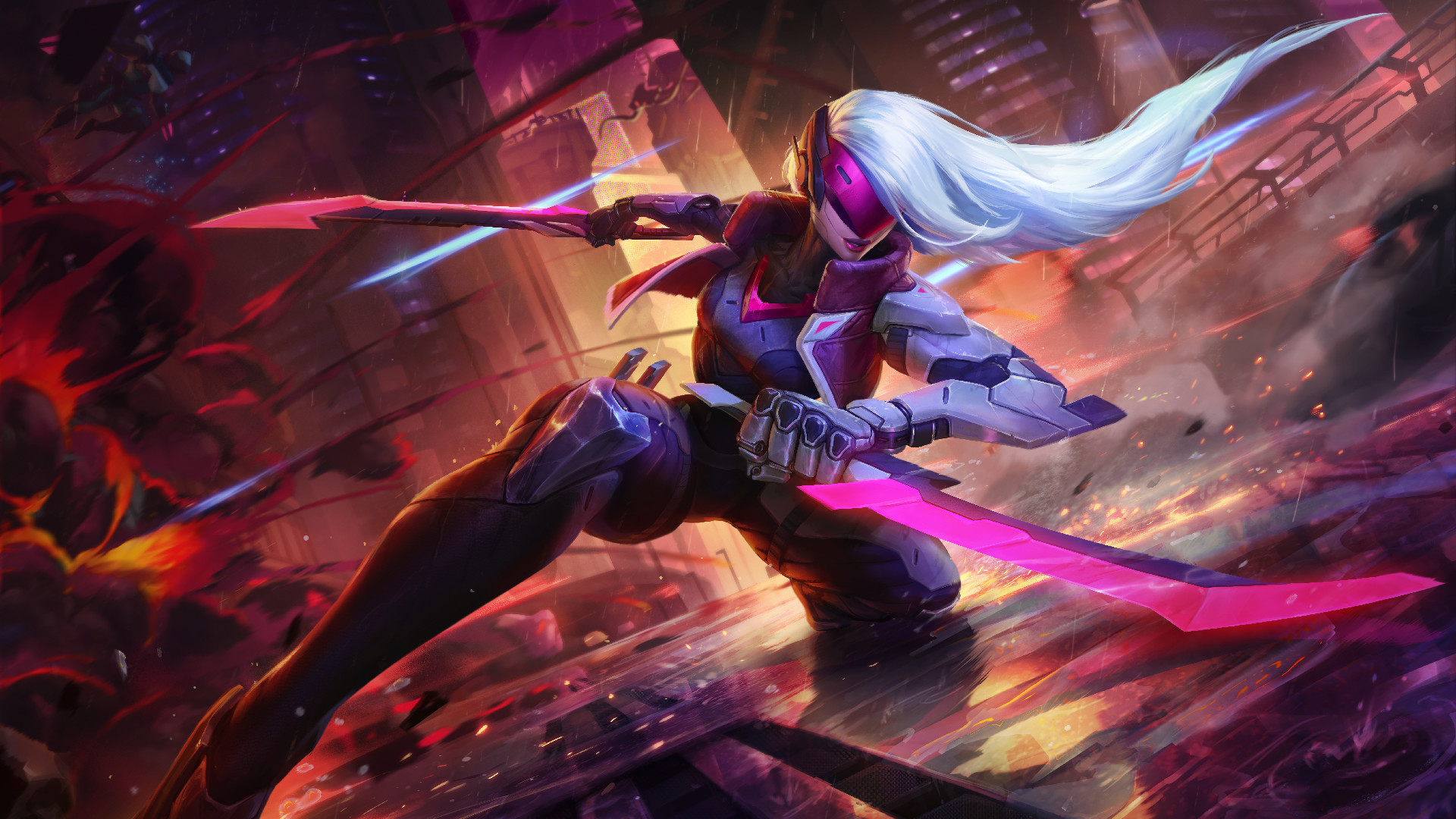 1920x1080 Project Katarina League of Legends