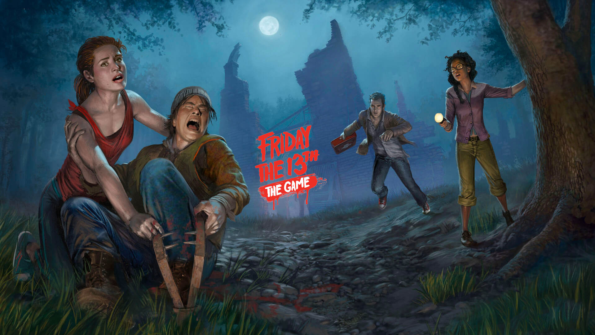 1920x1080 Friday the 13th: The Game HD Wallpaper 7 - 1920 X 1080