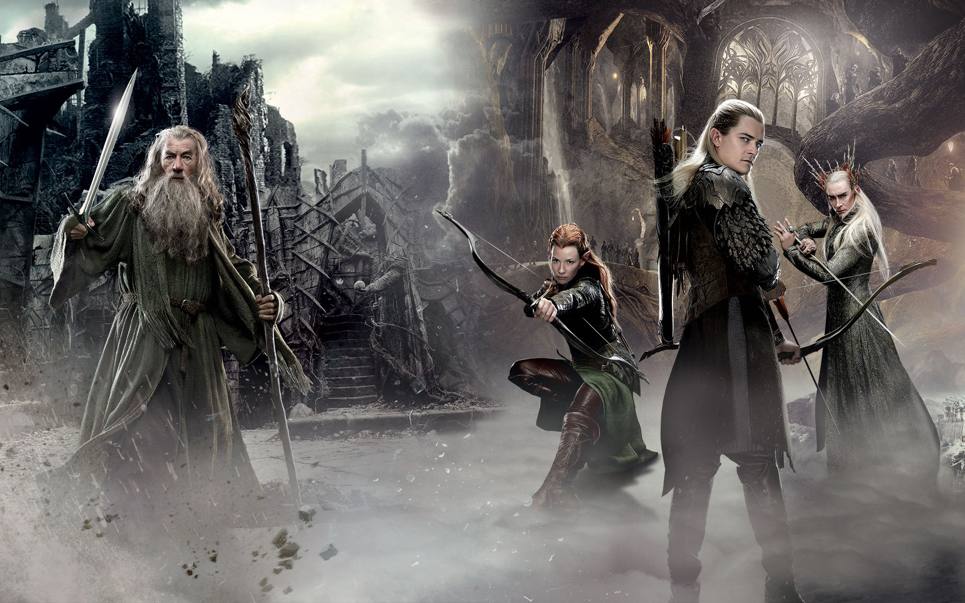 1920x1200 The Hobbit An Unexpected Journey 2 Movie