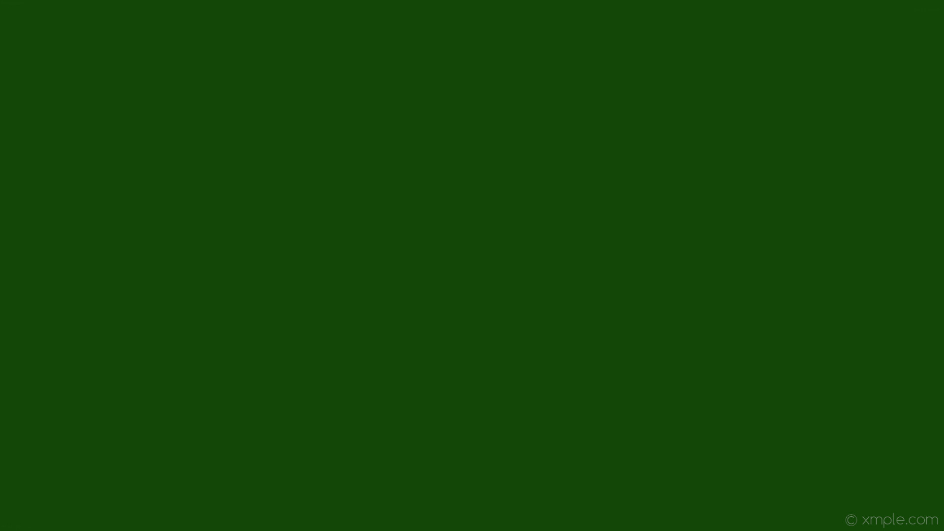 1920x1080 wallpaper single one colour plain green solid color dark green #124707