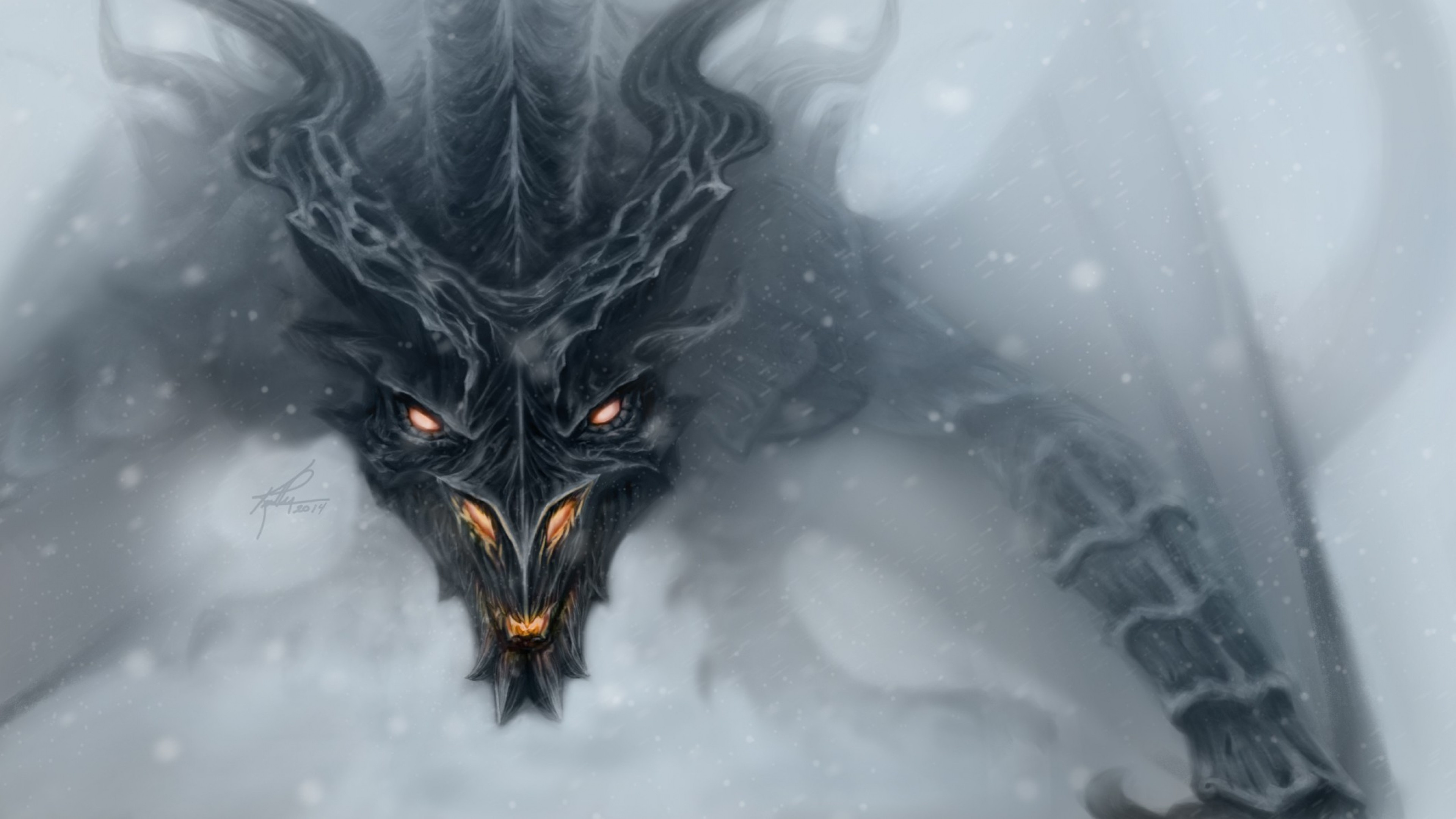 4K Cool Dragon Wallpapers (46+ images)