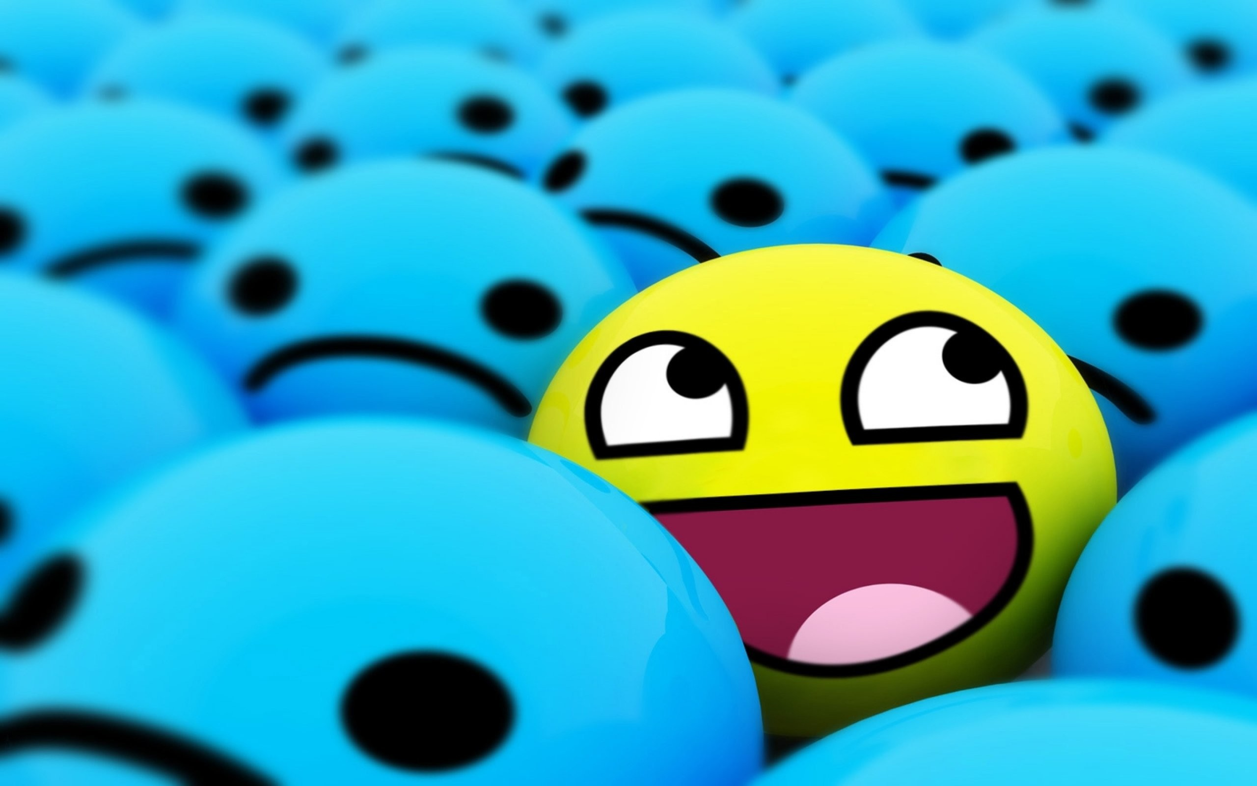 2560x1600 Awesome Smiley Face 871541