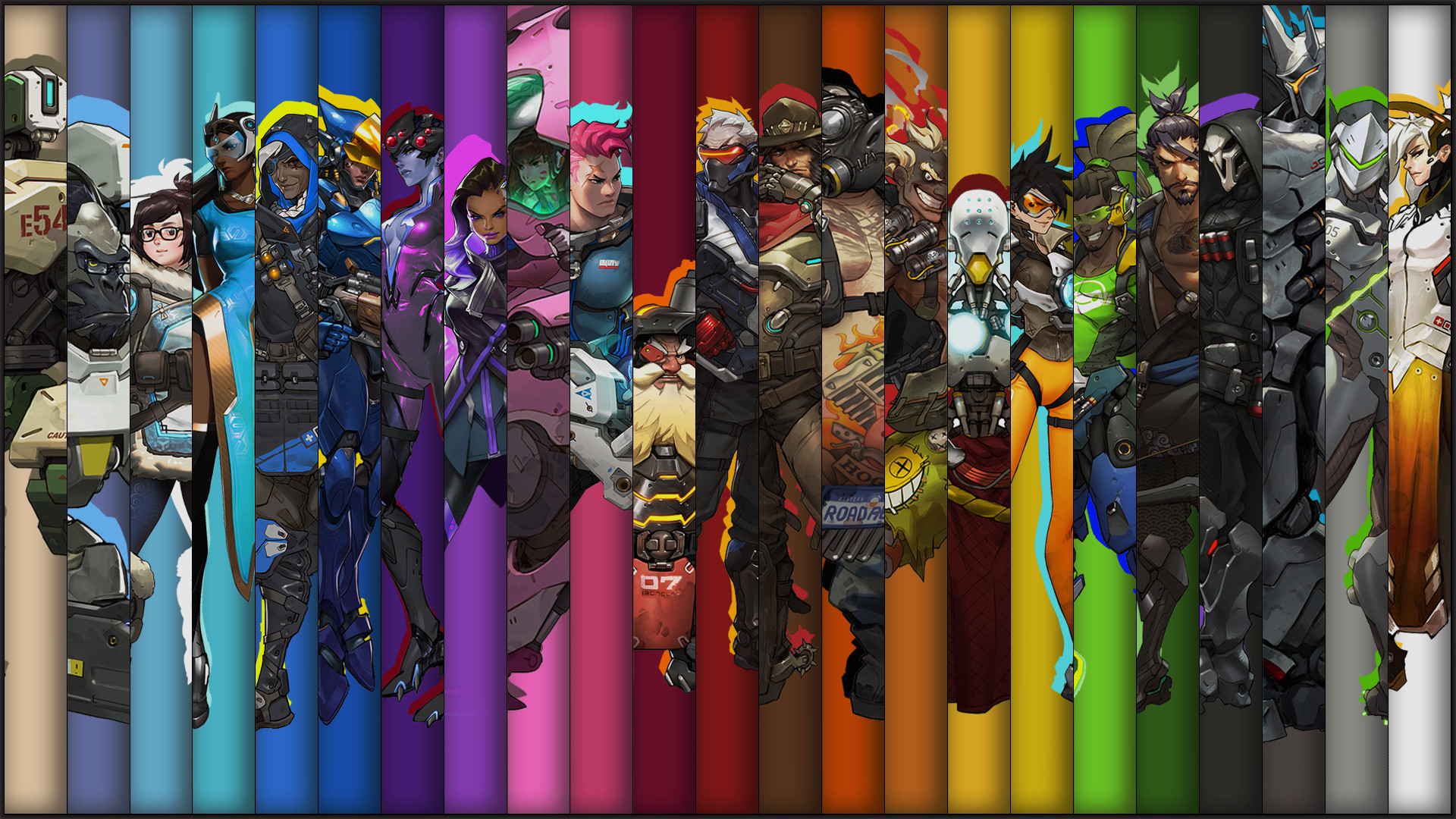 Overwatch 1920x1080 Wallpaper 86 Images