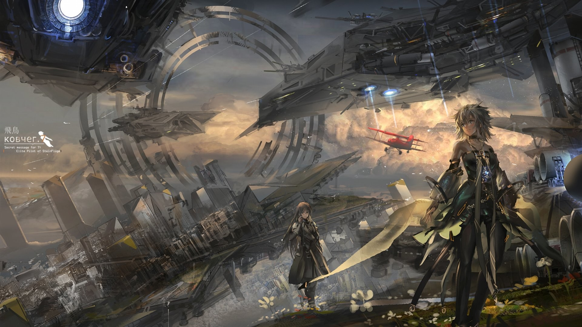 Anime Sci Fi Wallpaper 77 Images